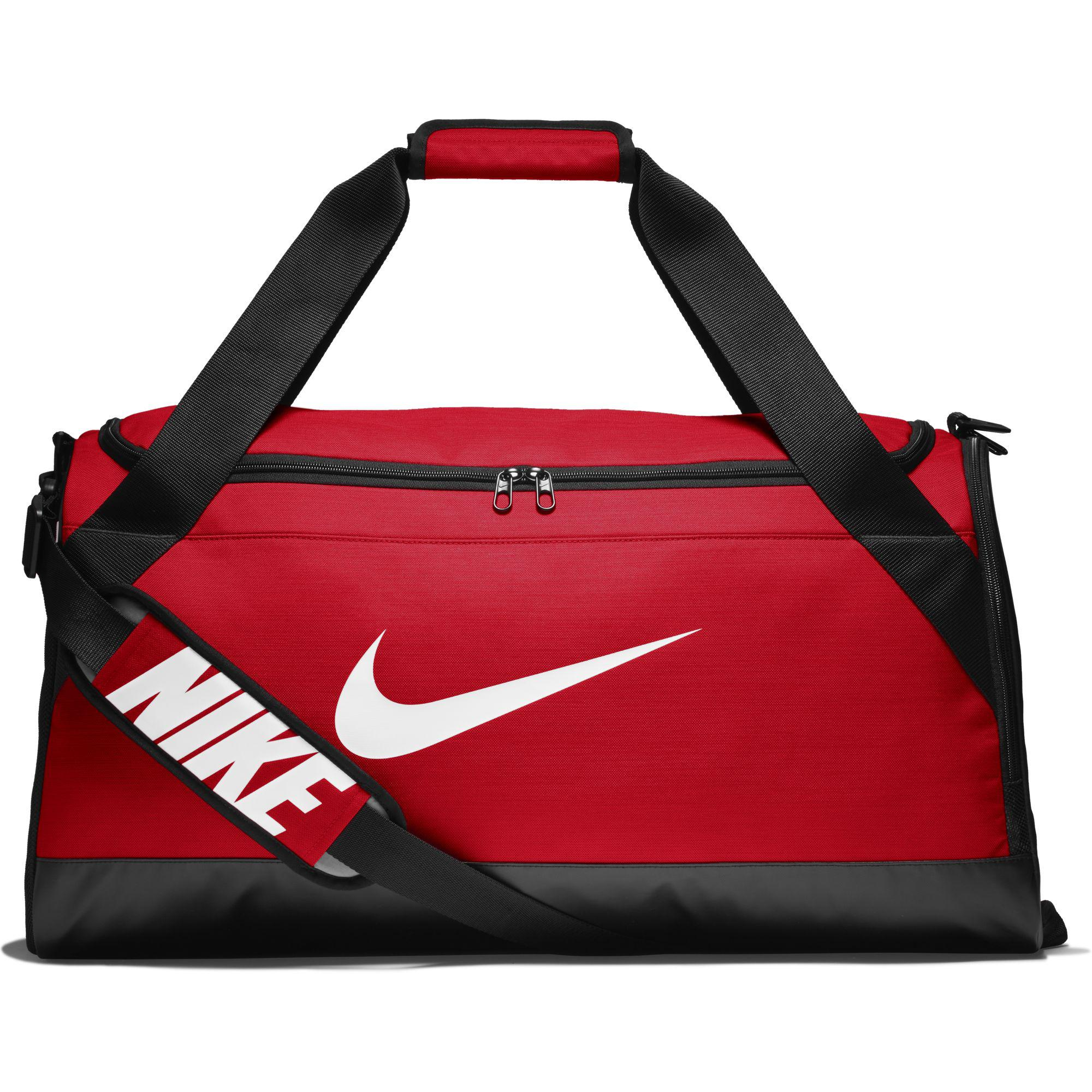 Nike Brasilia Medium Training Duffel Bag - University Red Black White -  Tennisnuts.com 7b2be67ef263b