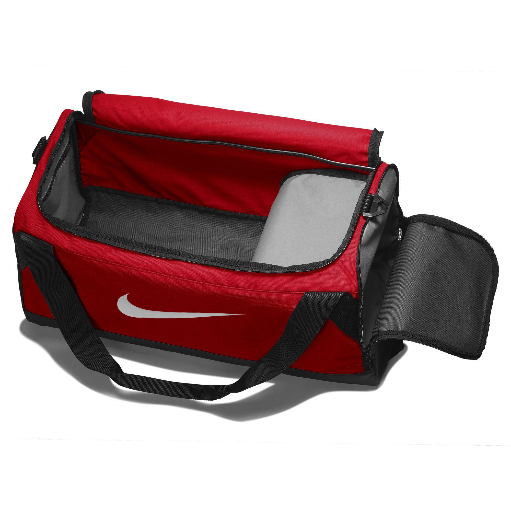 Nike Brasilia Medium Training Duffel Bag - University Red Black White e4b4198bb7