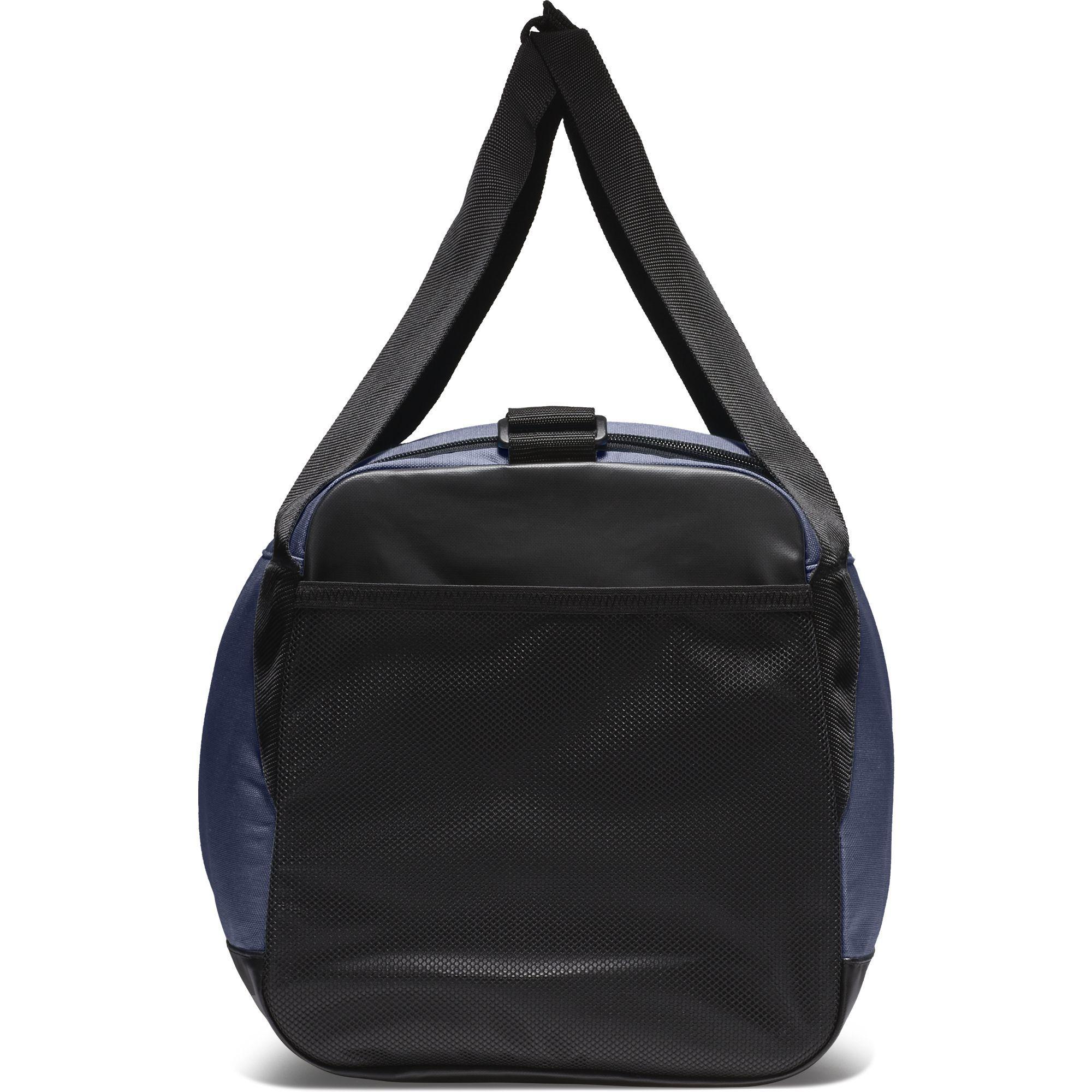 Nike Brasilia Small Training Duffel Bag - Midnight Navy Black White ... a01ddf2aa39ba