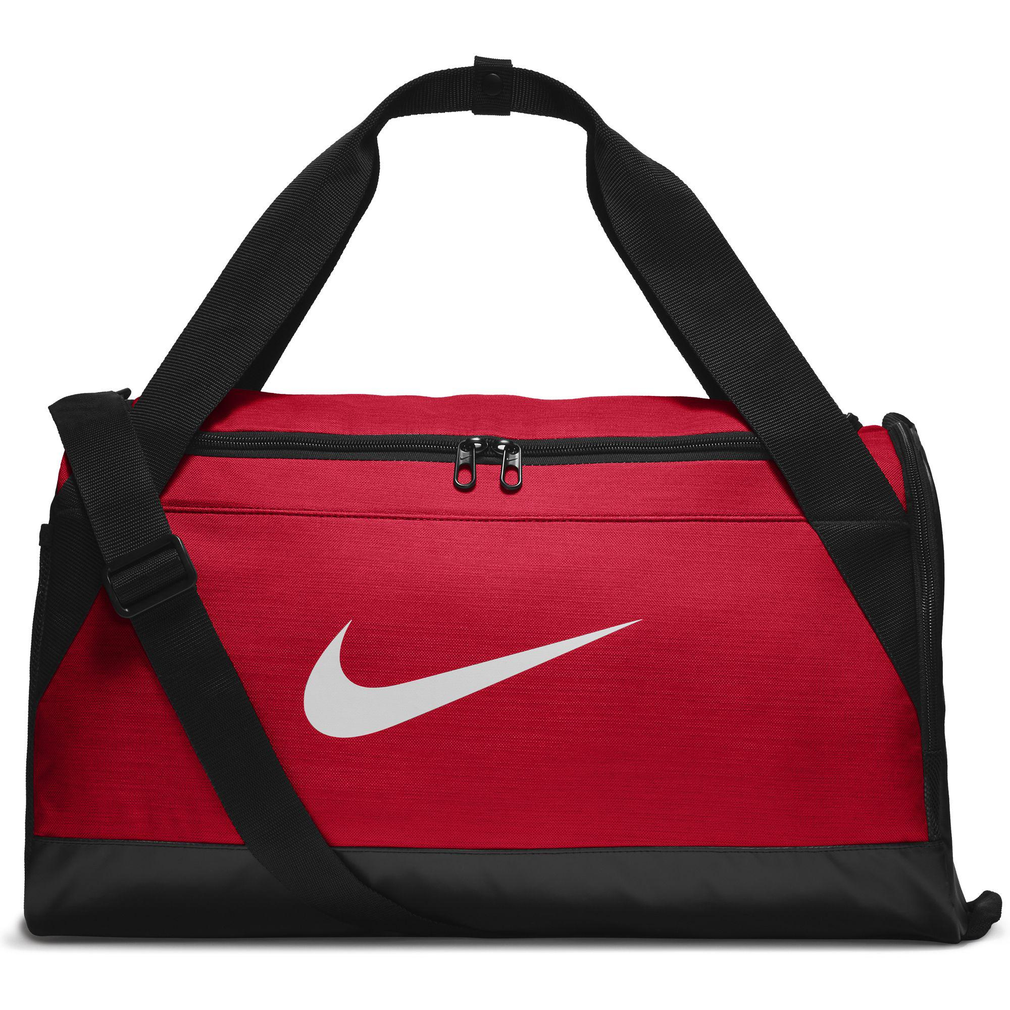 3f7150f8f522 Nike Brasilia Small Training Duffel Bag - University Red Black White -  Tennisnuts.com