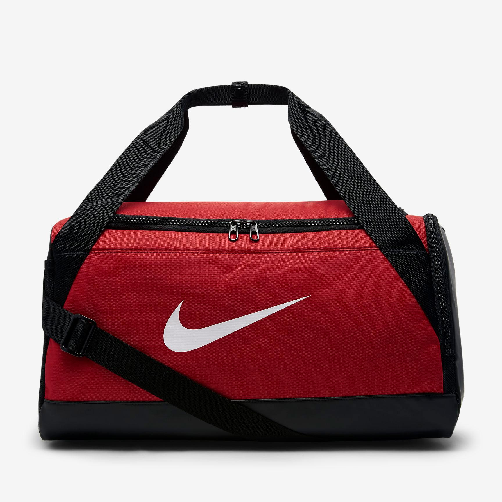Nike Brasilia Small Training Duffel Bag - University Red
