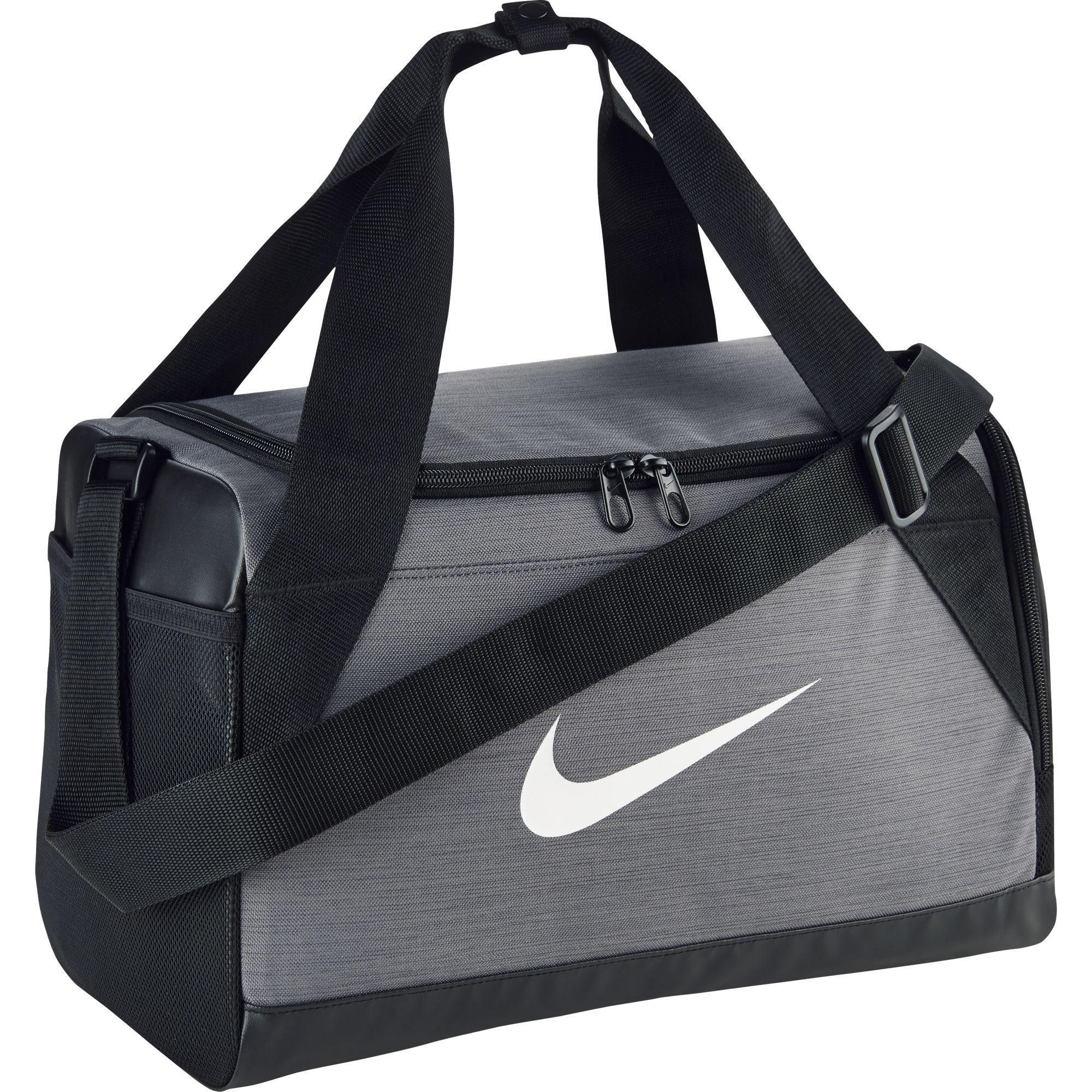 517ed61d57 Nike Brasilia Extra Small Training Duffel Bag - Flint Grey Black -  Tennisnuts.com