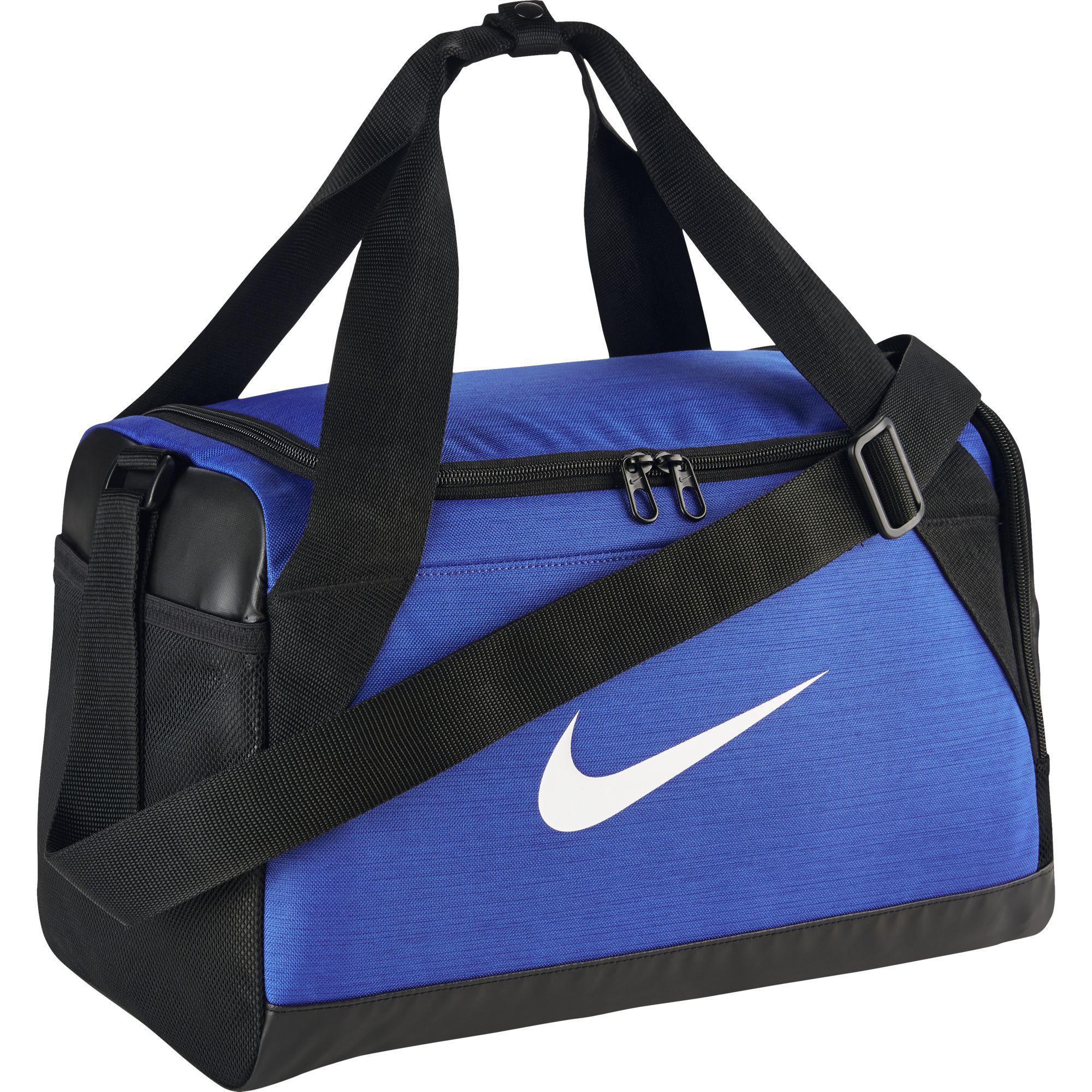 53eb69699fc1 Nike Brasilia Extra Small Training Duffel Bag - Game Royal Black White -  Tennisnuts.com