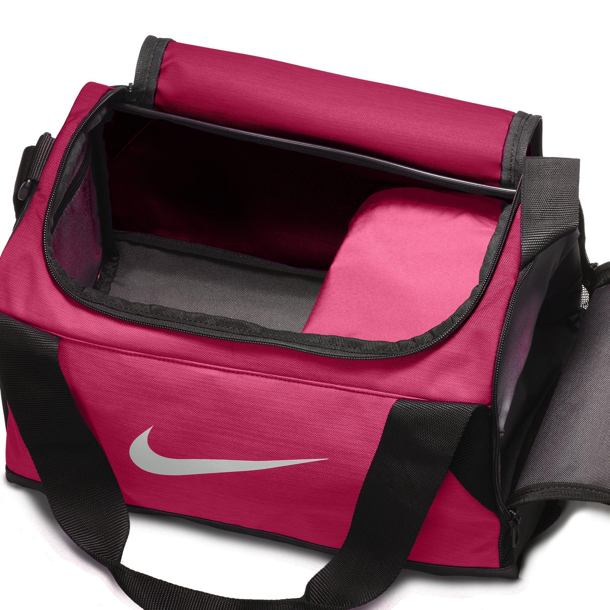 24511d188189 Nike Brasilia Extra Small Training Duffel Bag - Pink Black ...