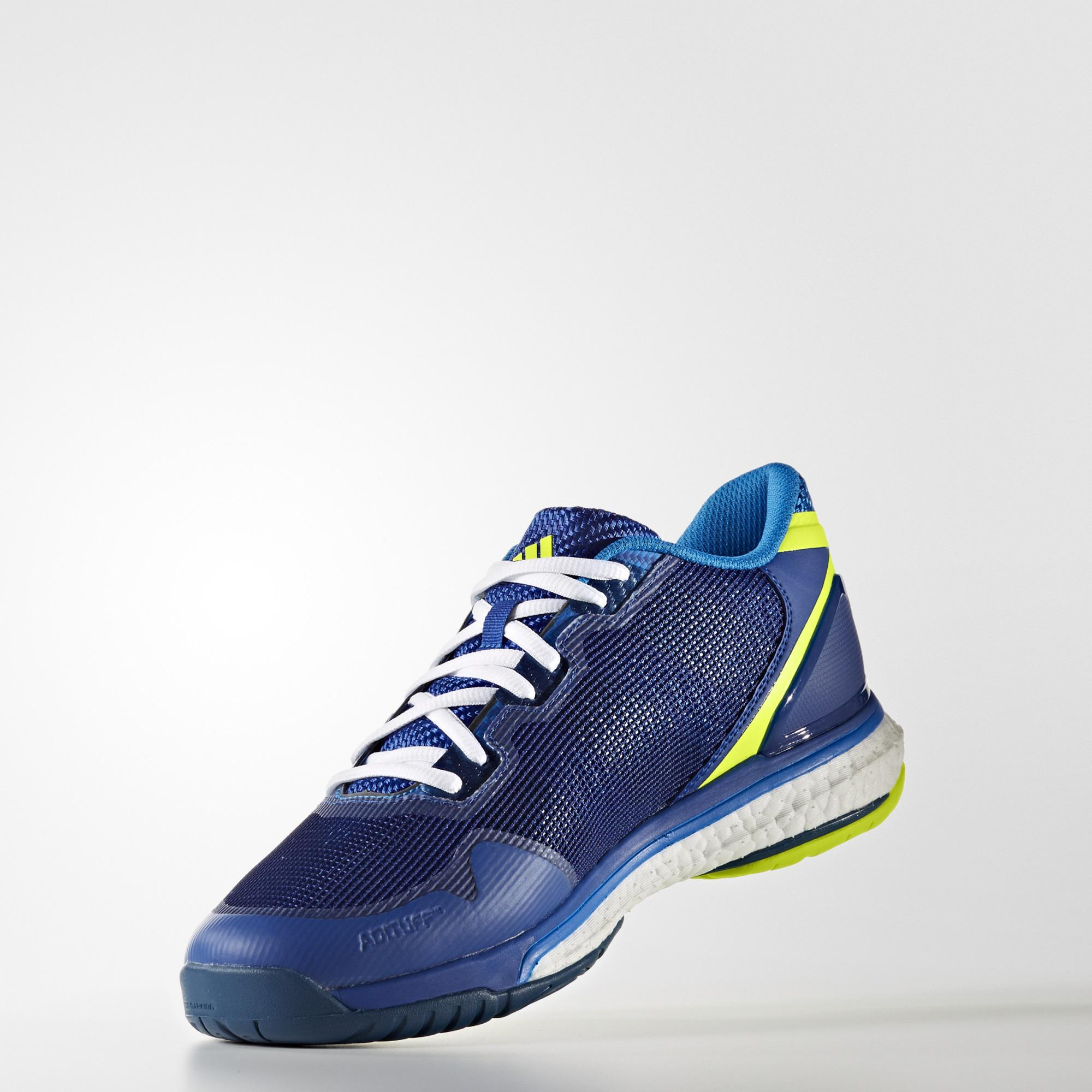 adidas mens stabil boost 2 indoor shoes blue. Black Bedroom Furniture Sets. Home Design Ideas