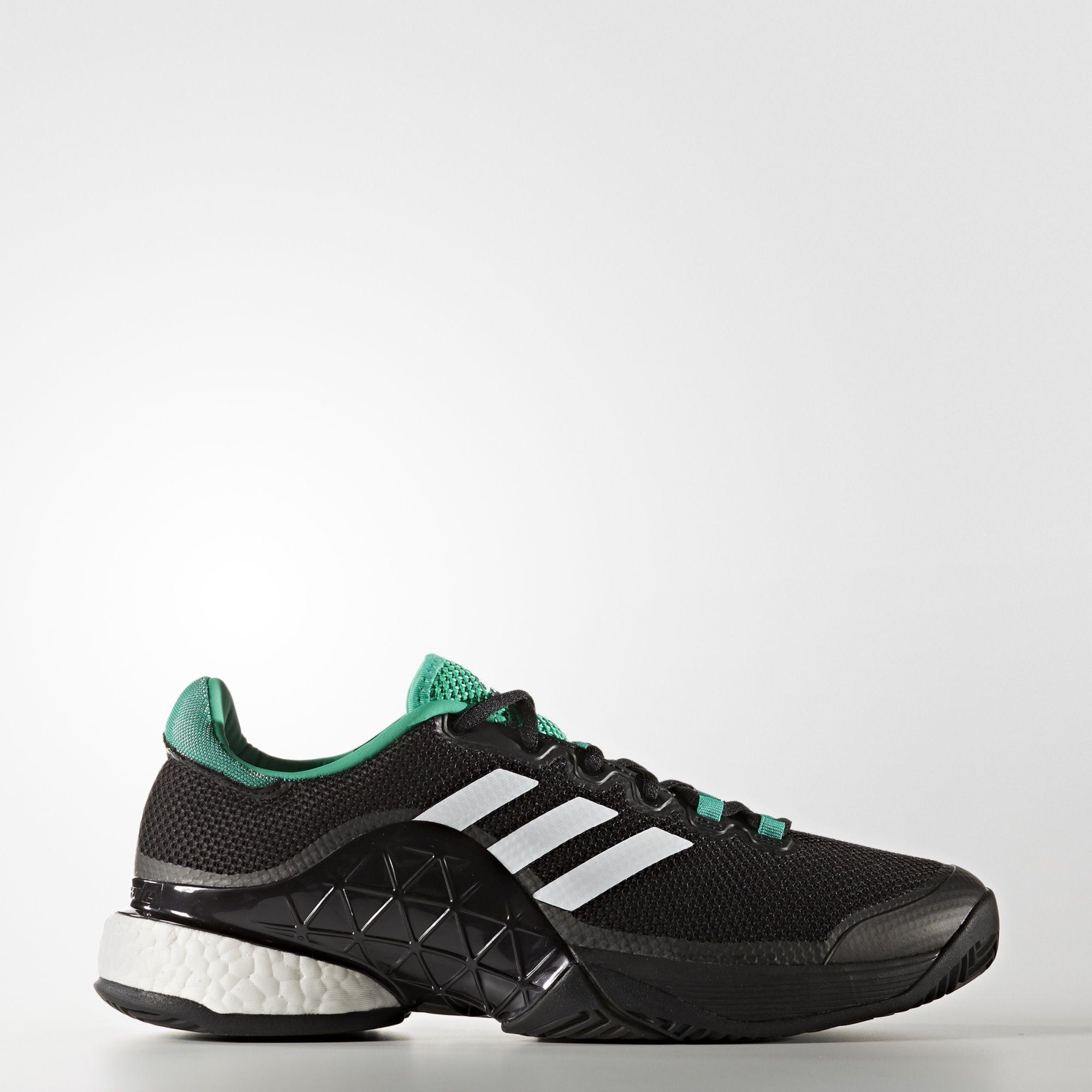 Adidas Uomo barricata impulso 2017, scarpe da tennis nero / verde