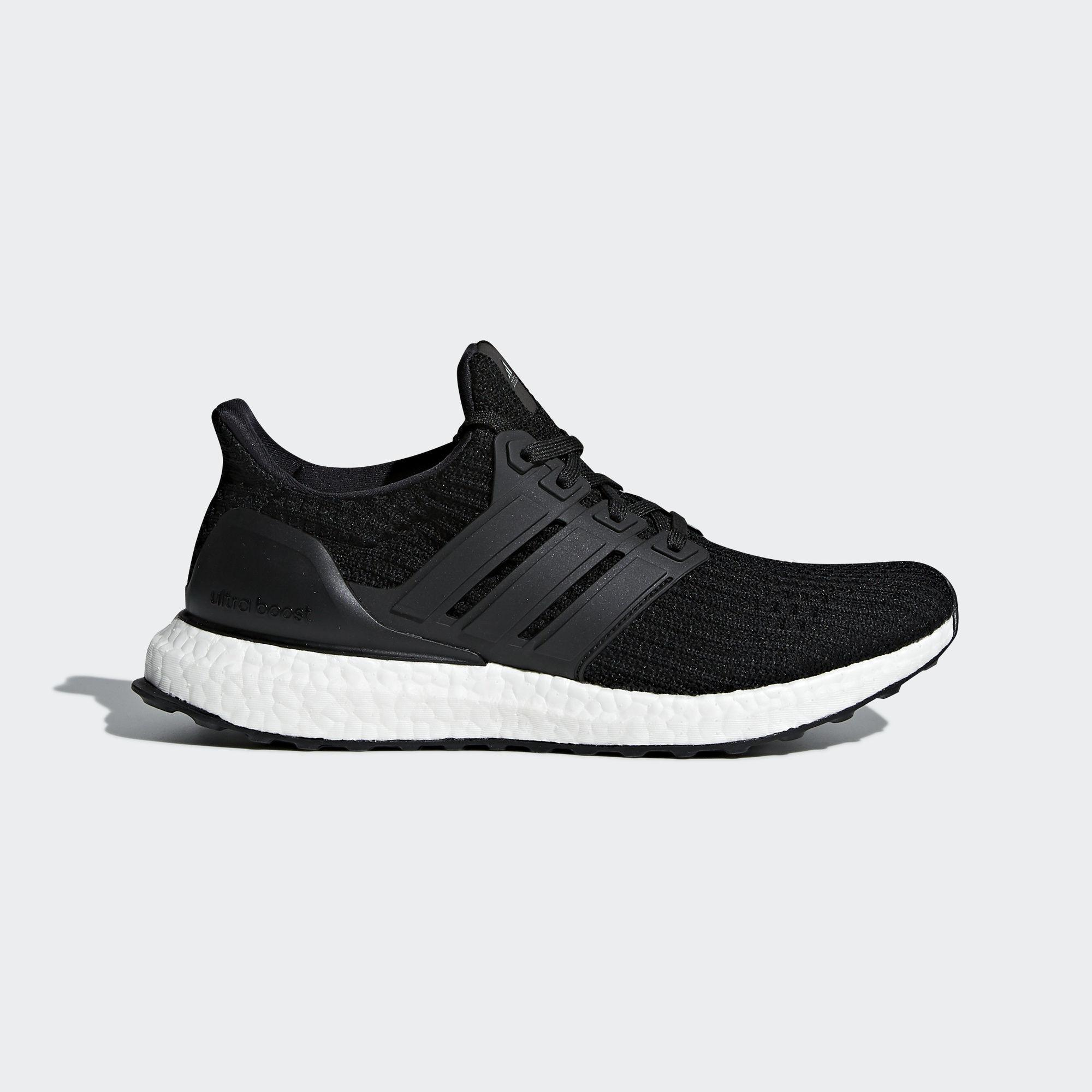 Adidas Womens Ultra Boost Running Shoes - Core Black