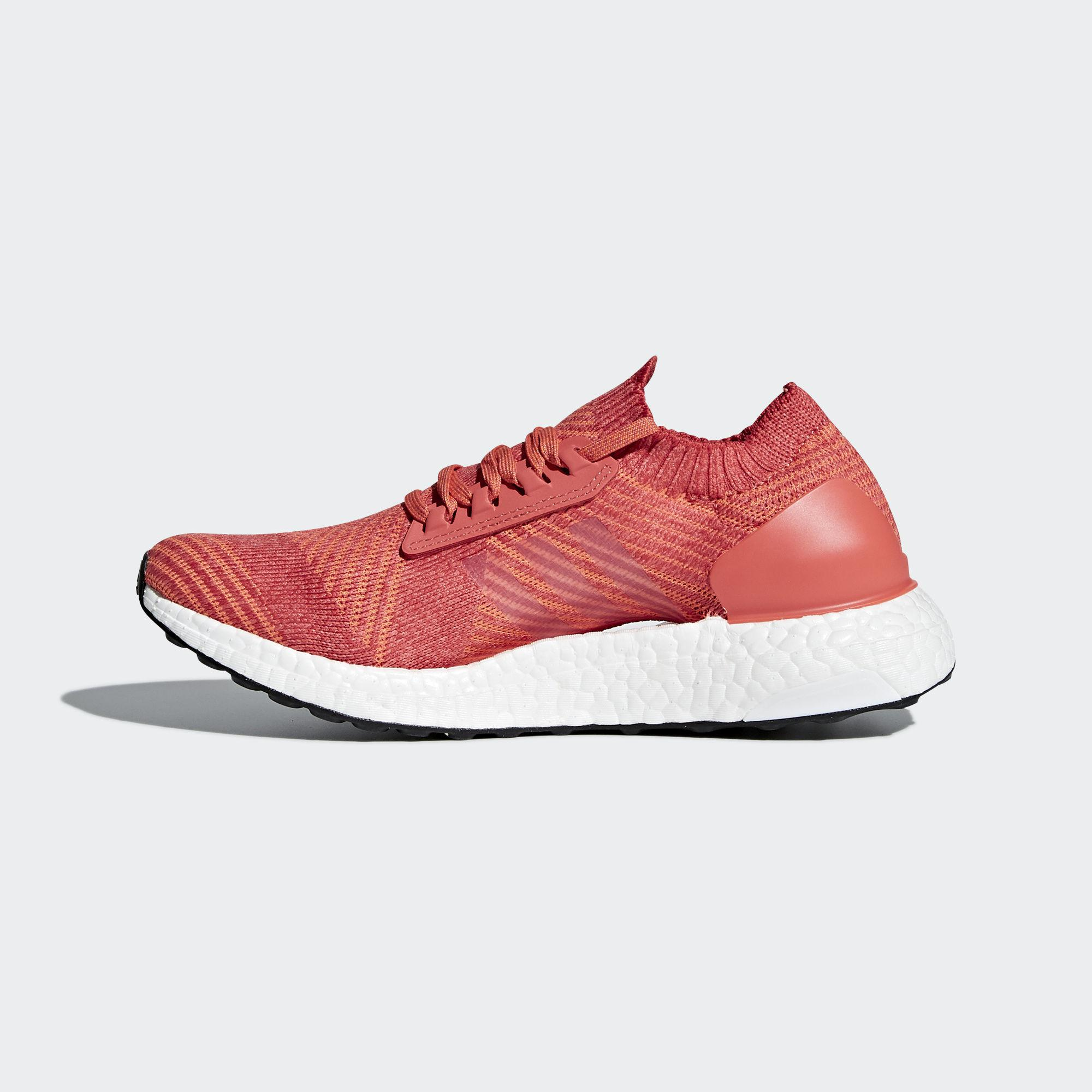 finest selection bc94c fdfe1 Adidas Womens Ultra Boost X Running Shoes - Trace Scarlet