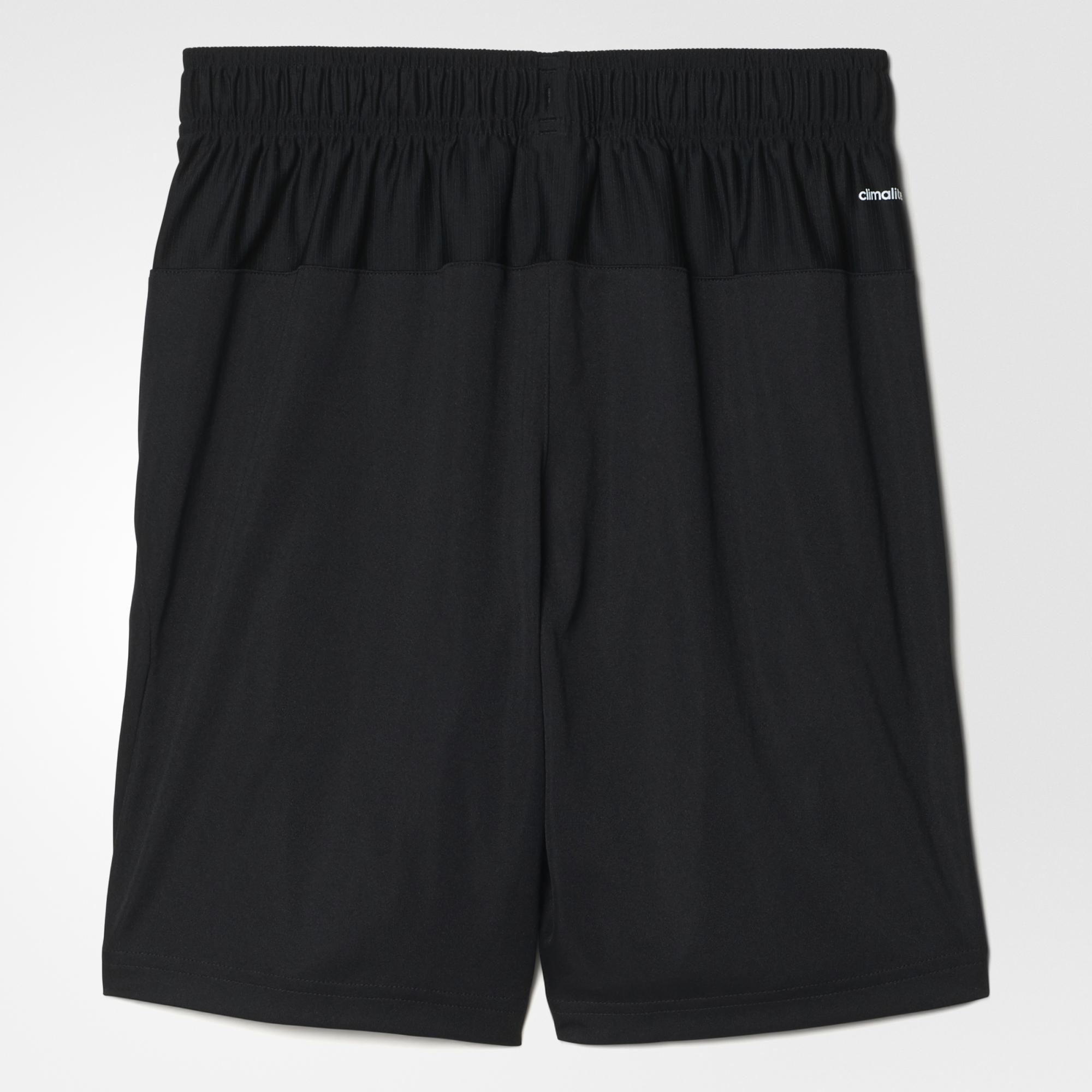 Adidas Boys Club Shorts - Black/White - Tennisnuts.com