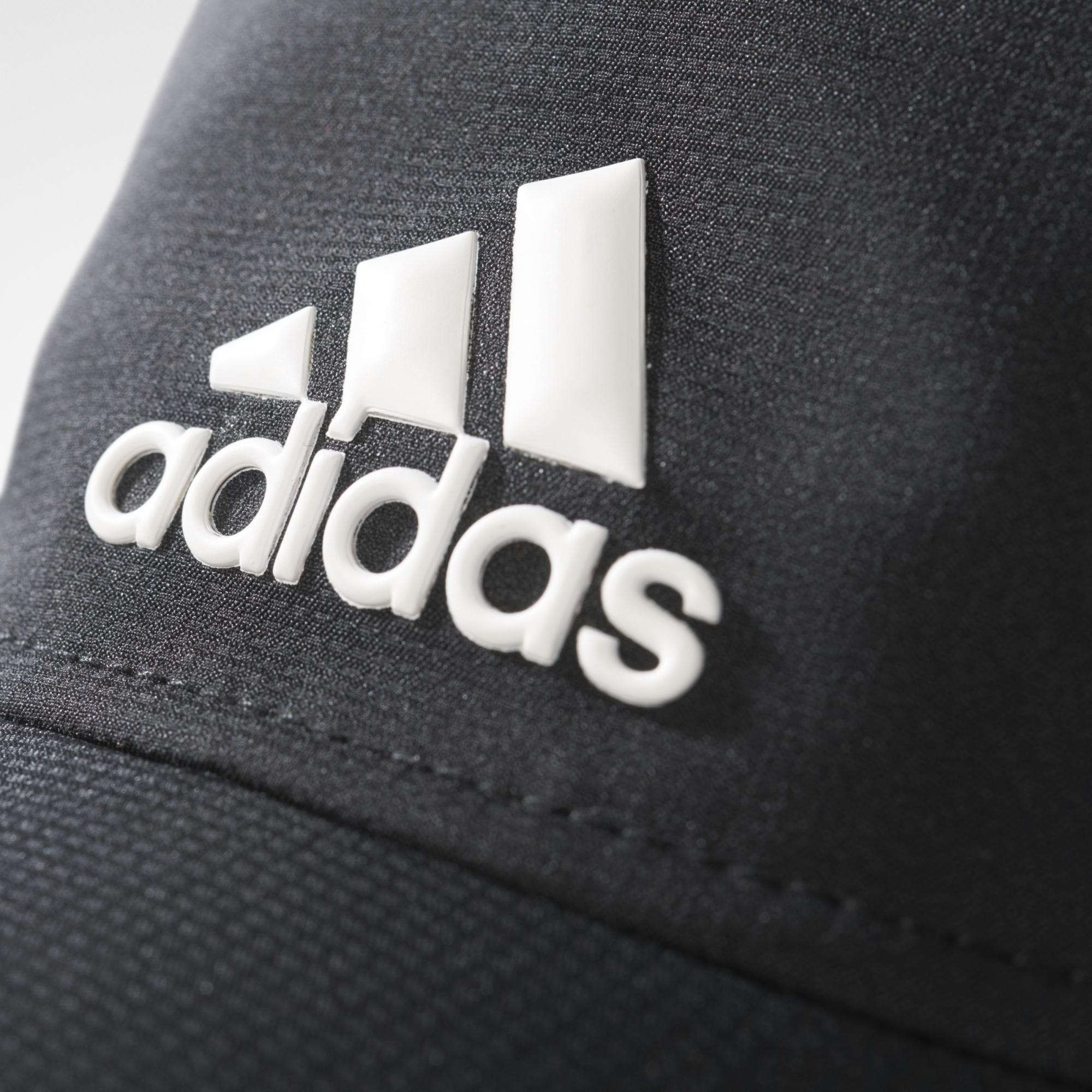 6b2113cbd19 Adidas Classic Six-Panel Climalite Cap - Black - Tennisnuts.com