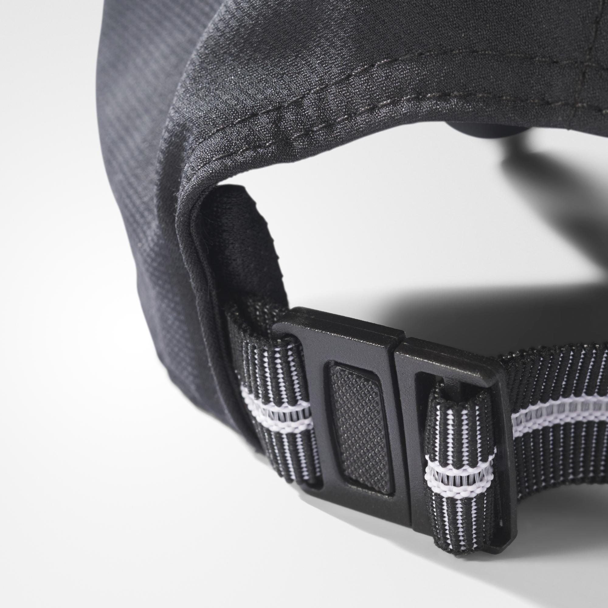87c093325d0 Adidas Classic Six-Panel Climalite Cap - Black - Tennisnuts.com
