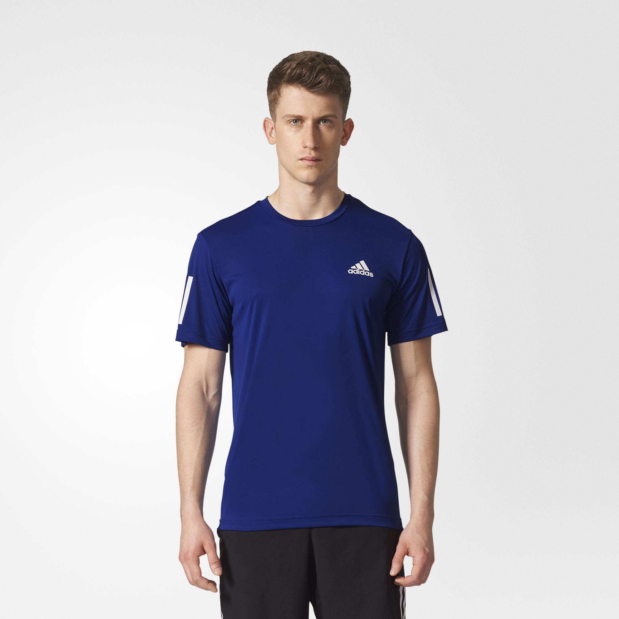 25e0a7a6783 Adidas Mens Club Tee - Mystery Ink Blue - Tennisnuts.com