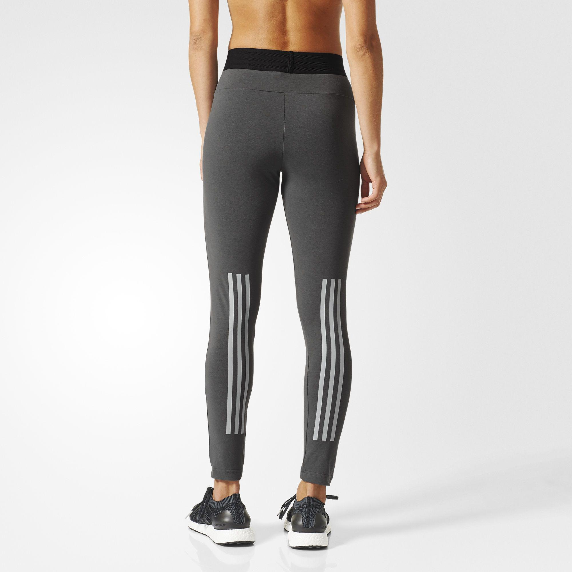 d1482be44128a2 Adidas Womens Sport ID Tights - Grey - Tennisnuts.com