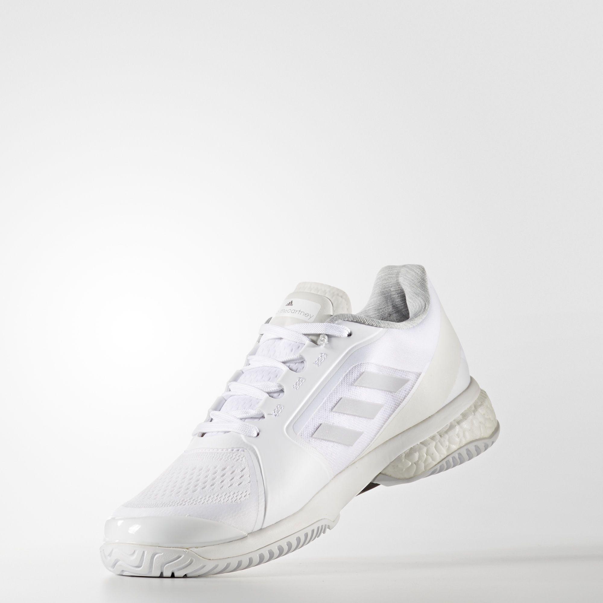 Adidas donne smc barricata impulso 2017, scarpe da tennis bianchi