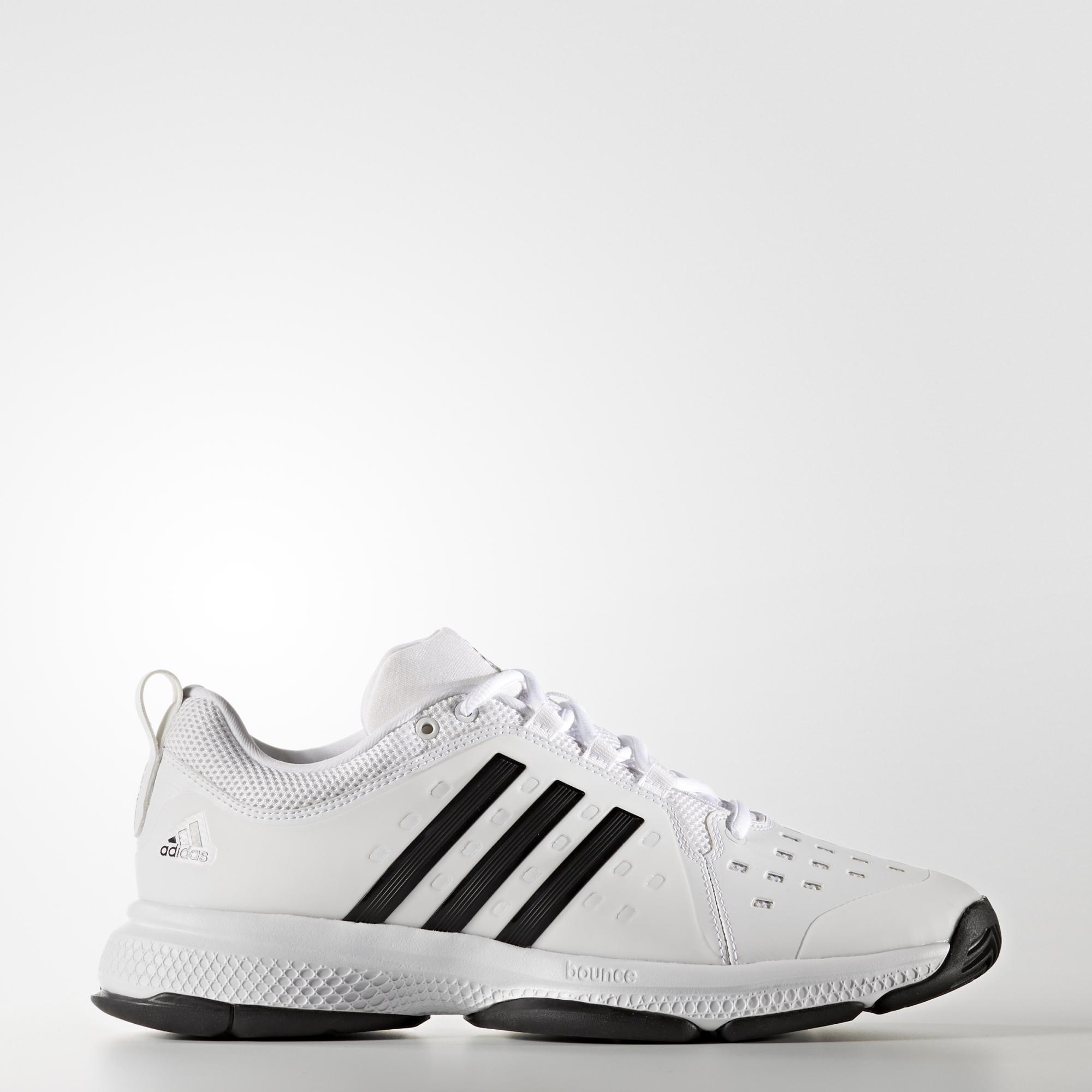 13c4f8fd9 Adidas Mens Barricade Classic Bounce Tennis Shoes - White Black -  Tennisnuts.com