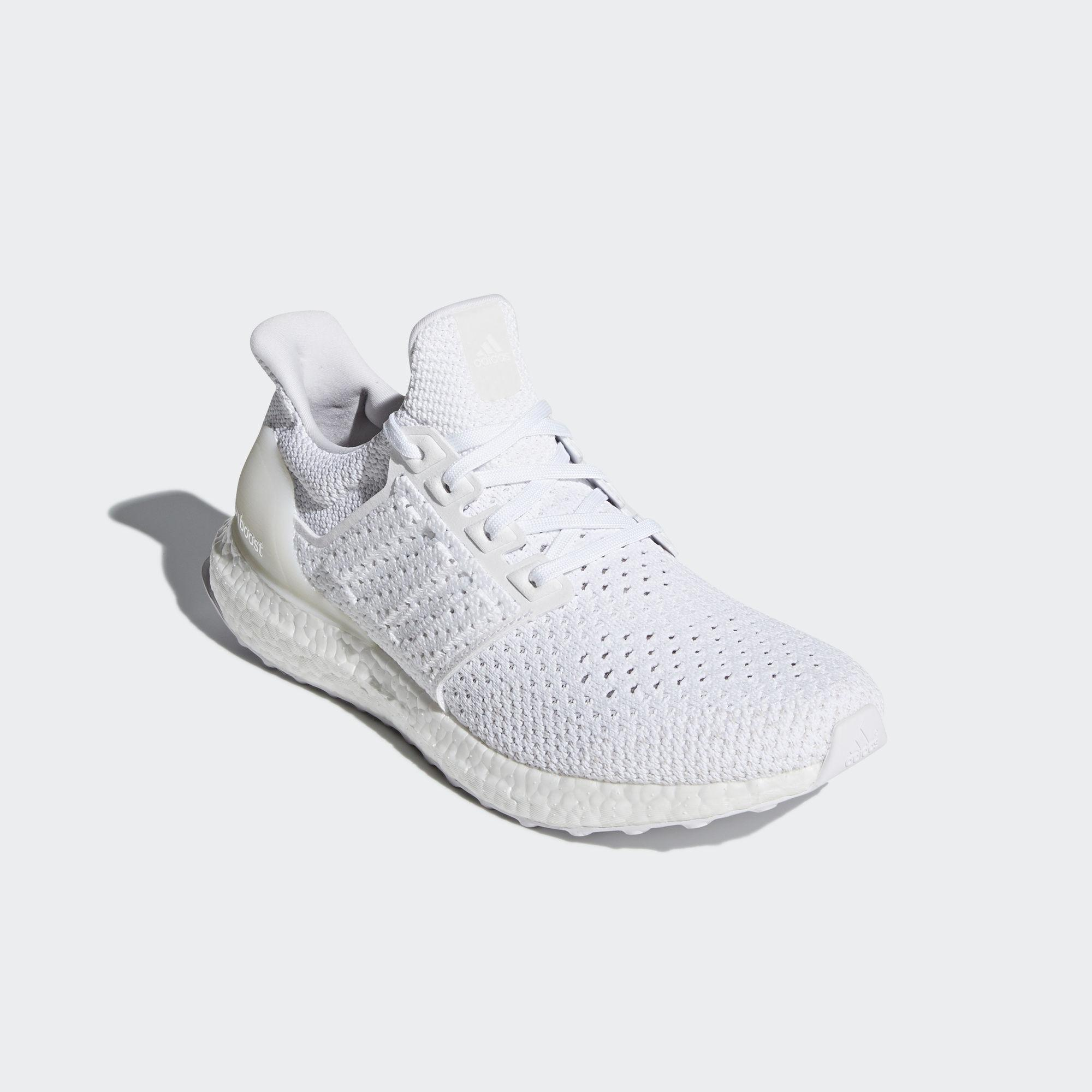 eed698348 Adidas Mens Ultra Boost Clima Running Shoes - White - Tennisnuts.com