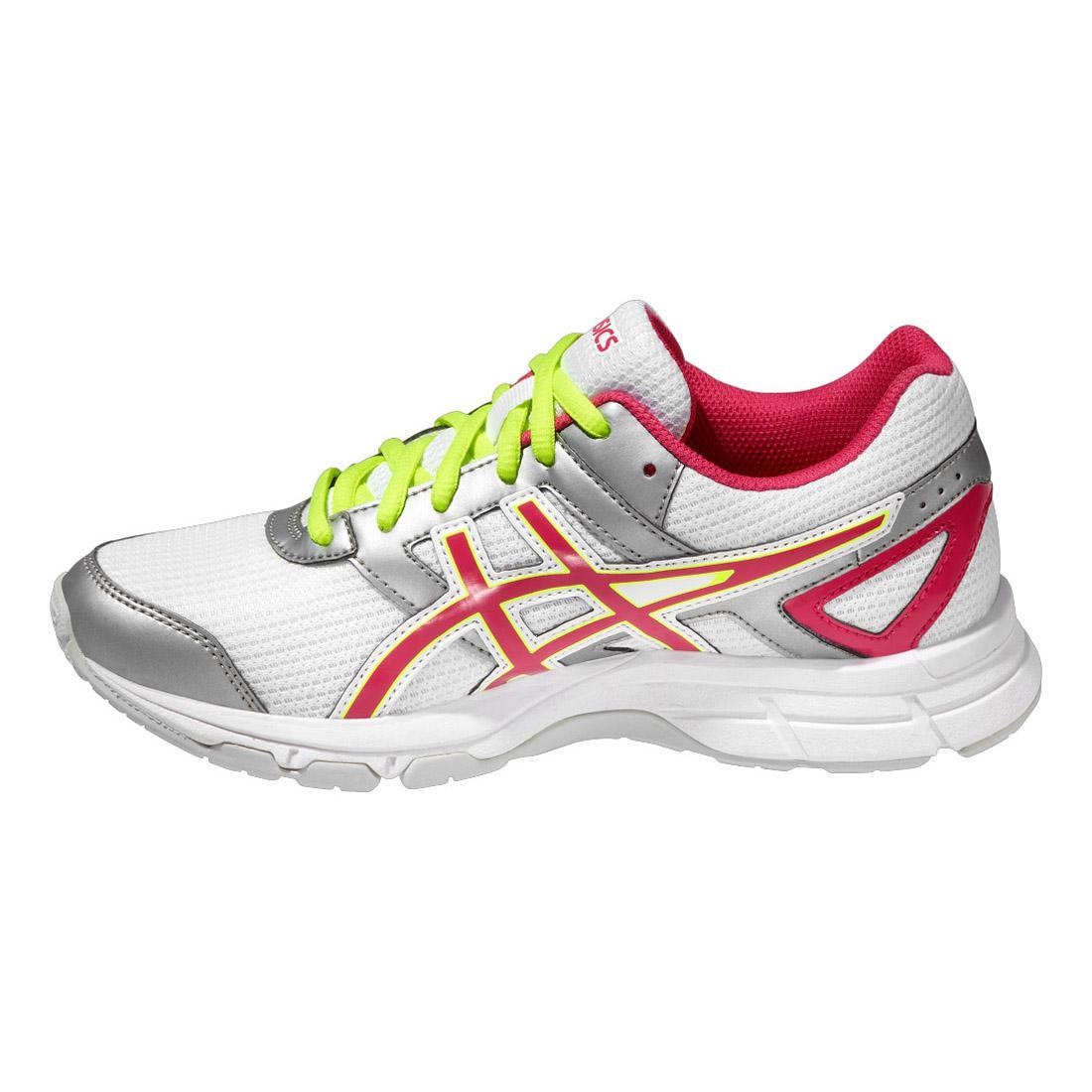Asics Kids GEL-Galaxy 8 GS Running Shoes - White Pink - Tennisnuts.com 106f700d12
