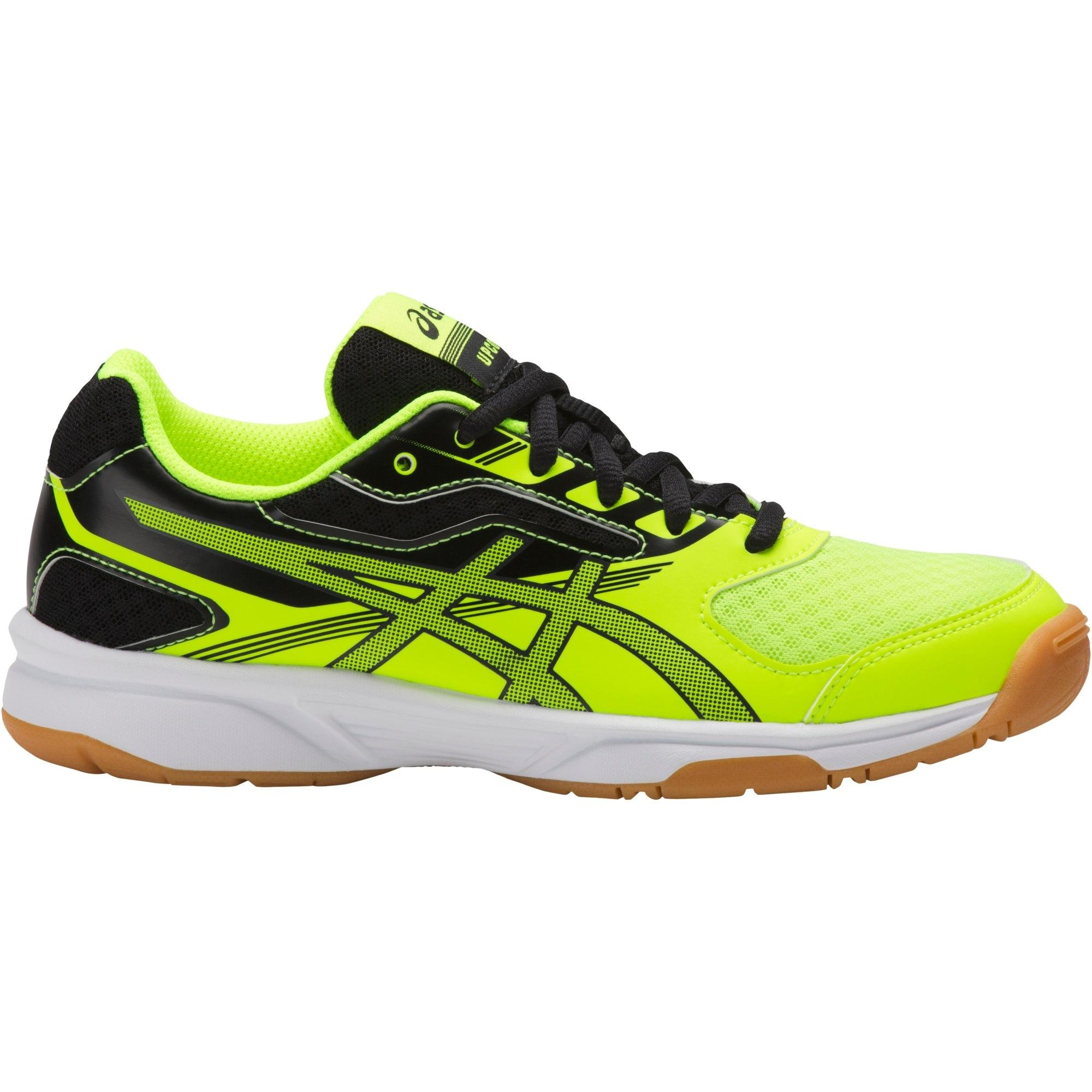 Asics Kids GEL Upcourt 2 GS Indoor Court Shoes Safety YellowBlack