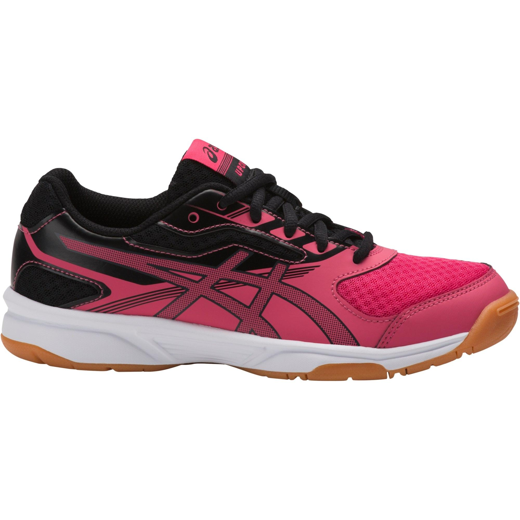Asics Kids GEL-Upcourt 2 GS Indoor Court Shoes - Rouge Red Black -  Tennisnuts.com 7997319faab3b