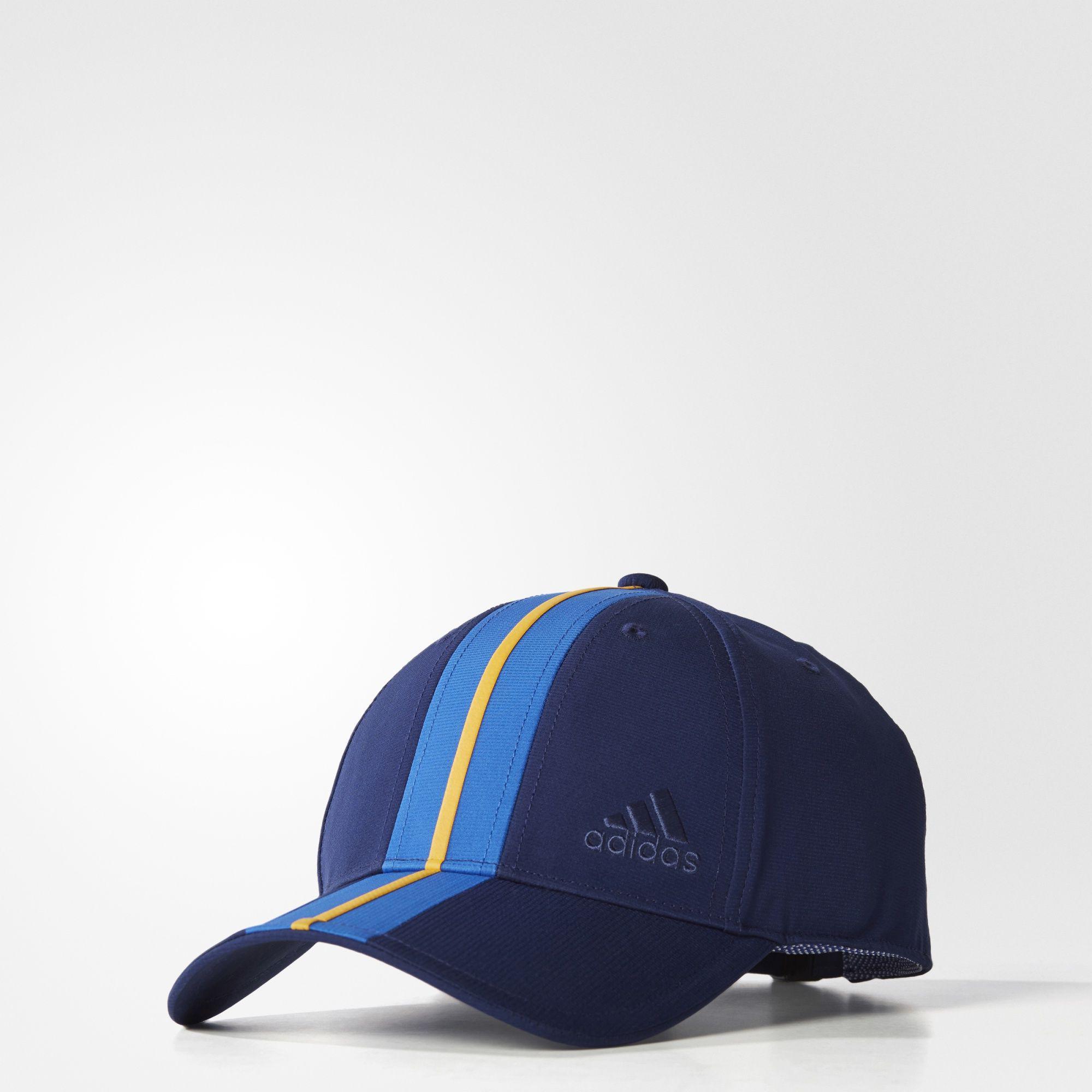 e0e9a1743af Adidas New York Climalite Cap - Blue Yellow - Tennisnuts.com