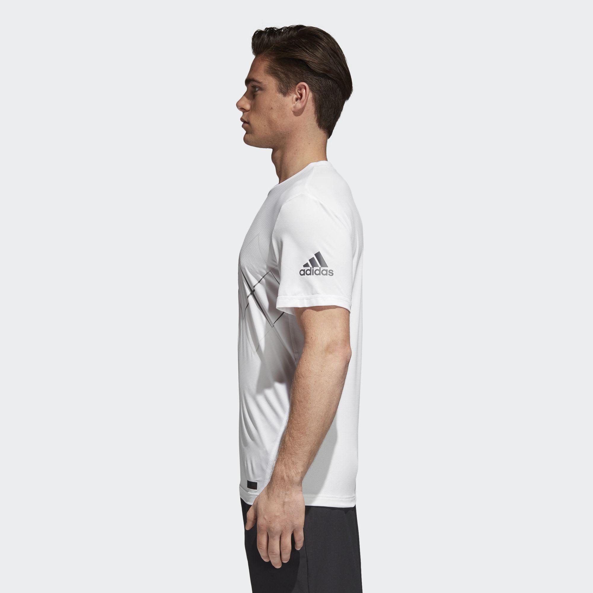Tee Argyl Adidas Mens Tennis White Barricade TqnO7Z1U