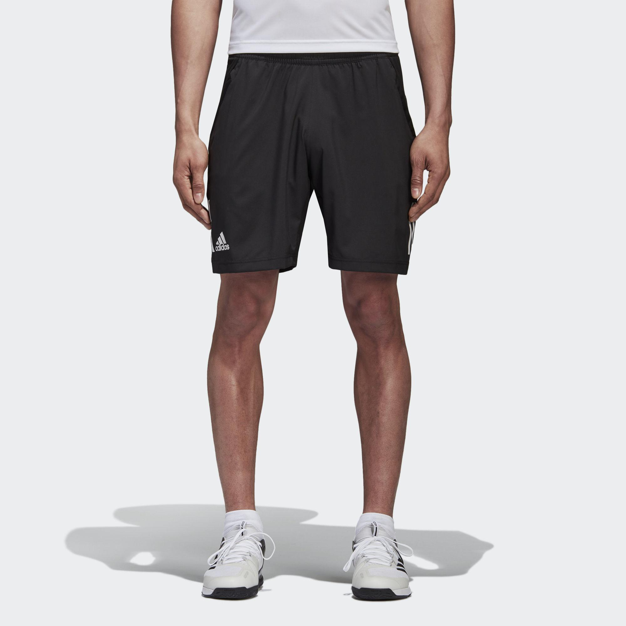 Adidas Mens Club Tennis Shorts - Black - Tennisnuts.com