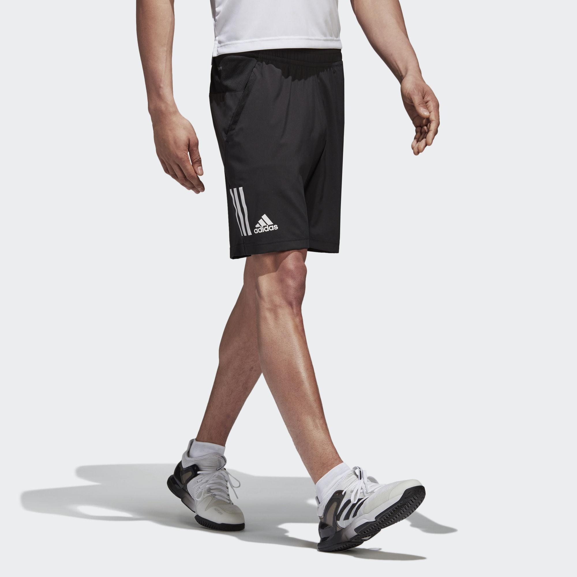 0a8da37a0fb Adidas Mens Club Tennis Shorts - Black - Tennisnuts.com