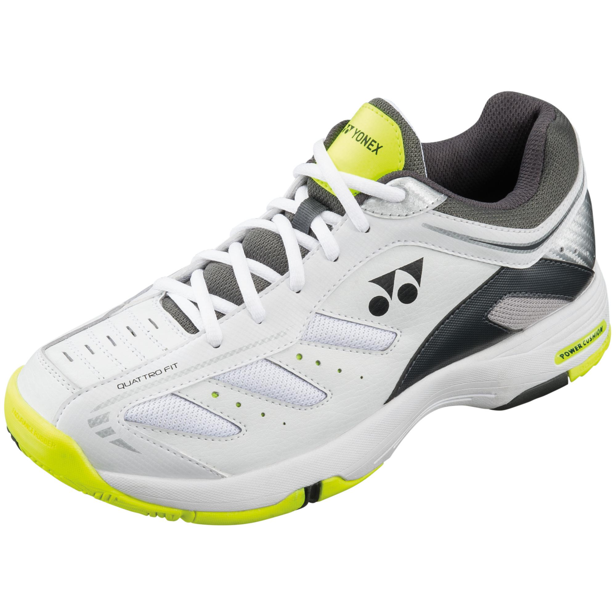 yonex mens sht cefiro all court tennis shoes white
