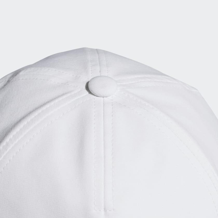 0bd9e36e Adidas Adult C40 Climalite Cap - White/Black - Tennisnuts.com