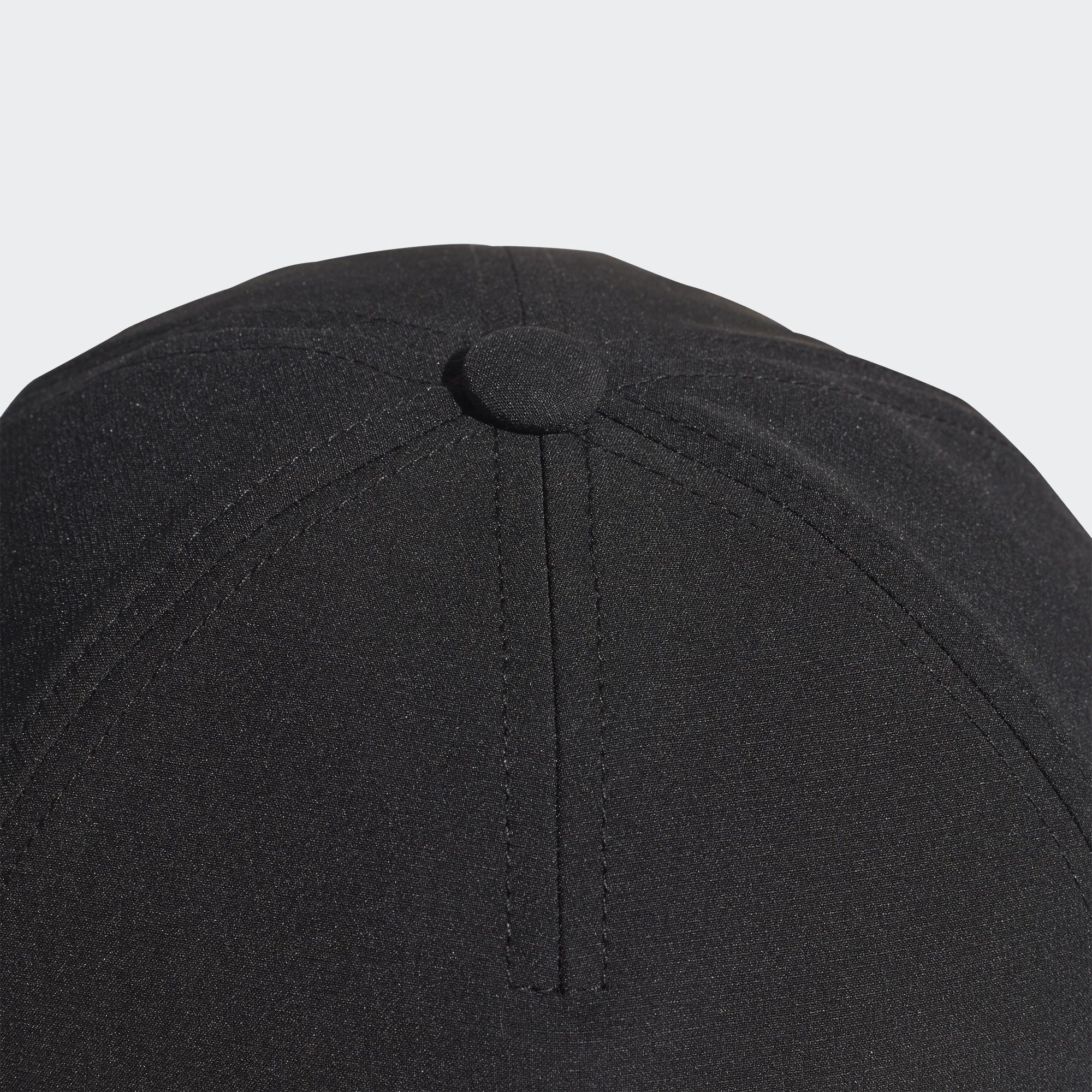 Adidas Adult 5 Panel Climalite Cap - Black White - Tennisnuts.com 43737791e6c2