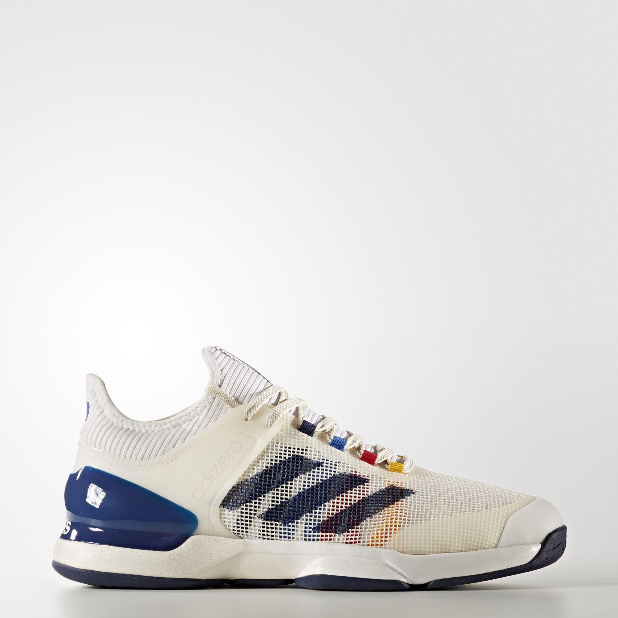 d9805e6d7 Adidas Mens Adizero Ubersonic 2.0 Pharrell Williams Tennis Shoes -  Multi-Colour - Tennisnuts.com