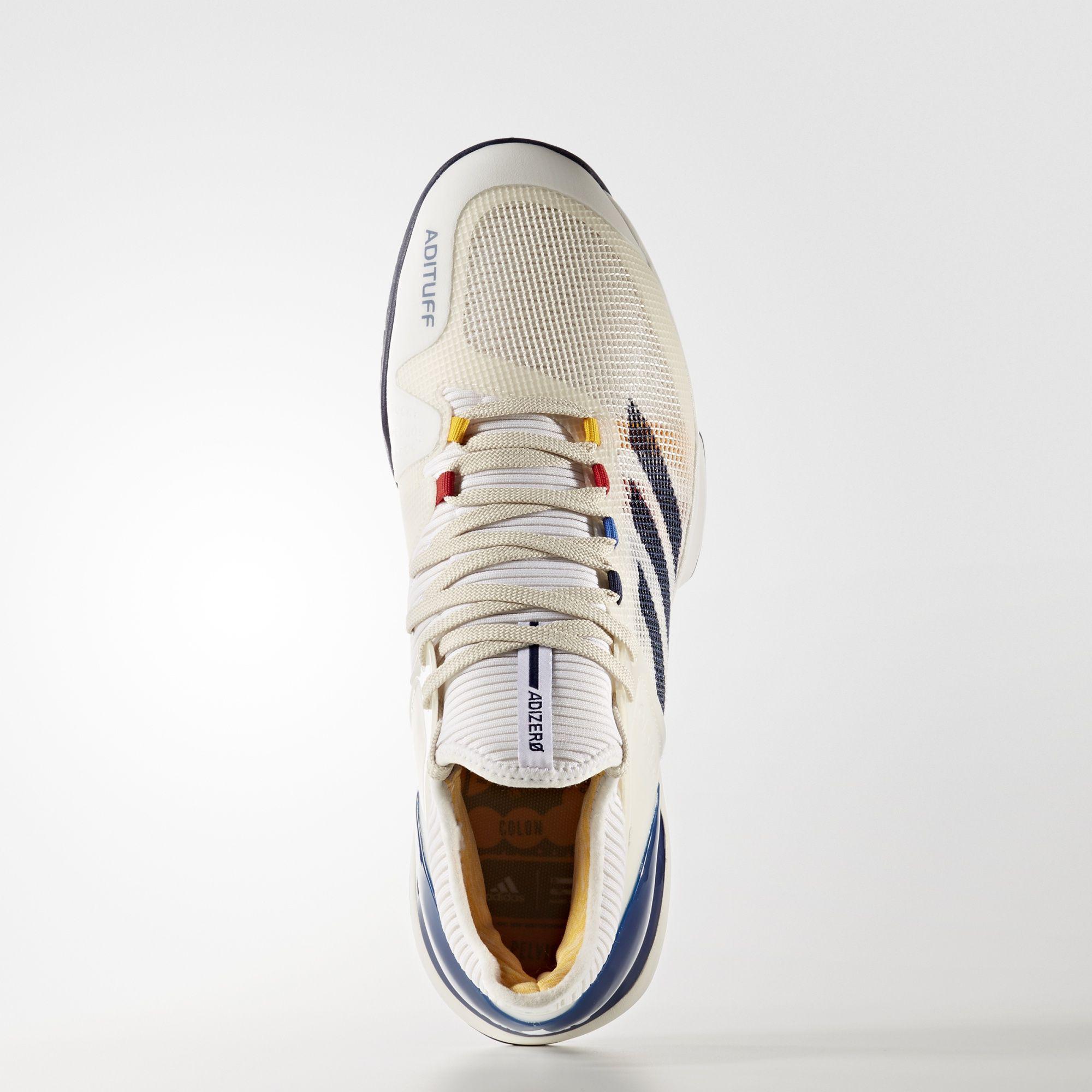 sneakers for cheap 51dc5 9725a Adidas Mens Adizero Ubersonic 2.0 Pharrell Williams Tennis Shoes -  Multi-Colour