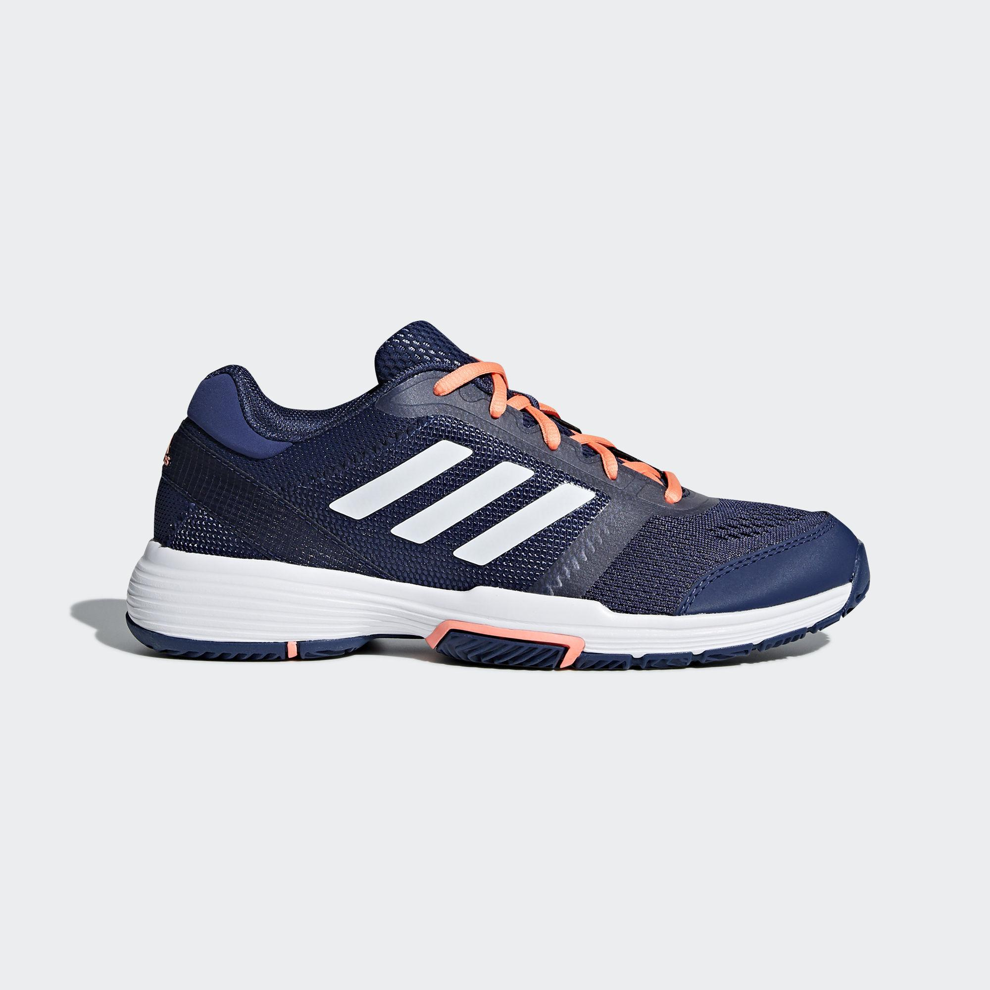 Adidas Womens Barricade Club Tennis Shoes - Indigo
