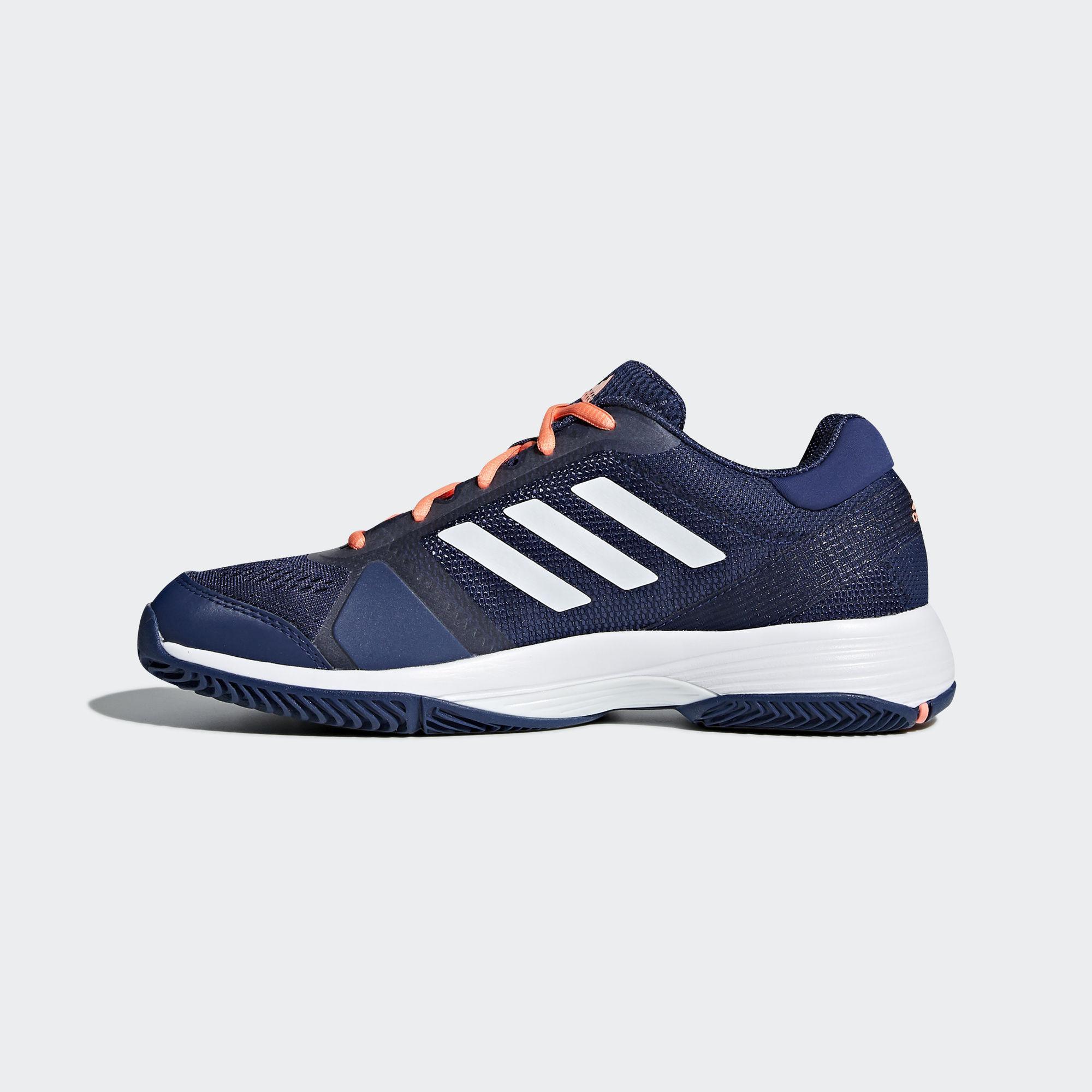 31057dda09b Adidas Womens Barricade Club Tennis Shoes - Indigo - Tennisnuts.com
