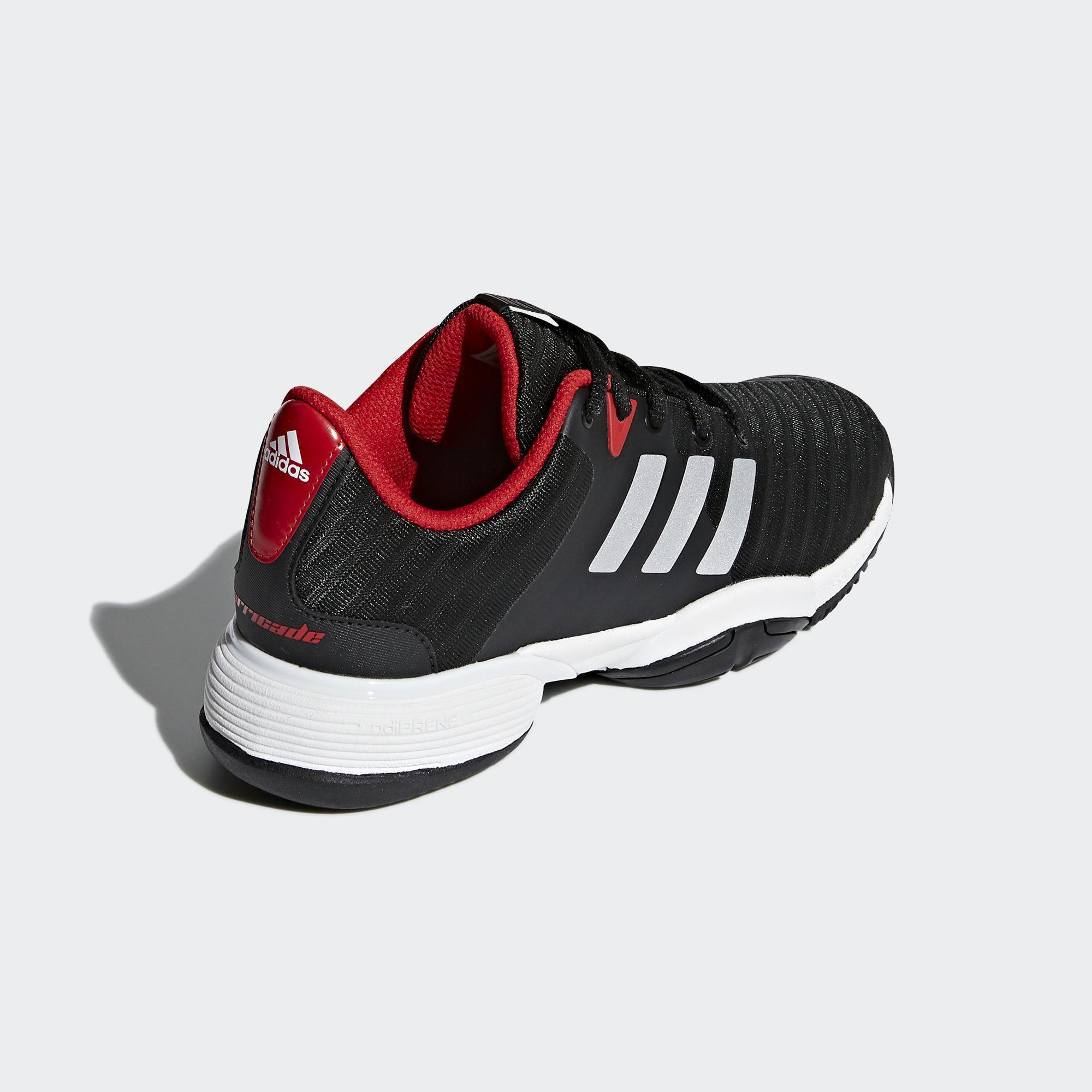 Adidas Kids Barricade 2018 Tennis Shoes - Black/White ...
