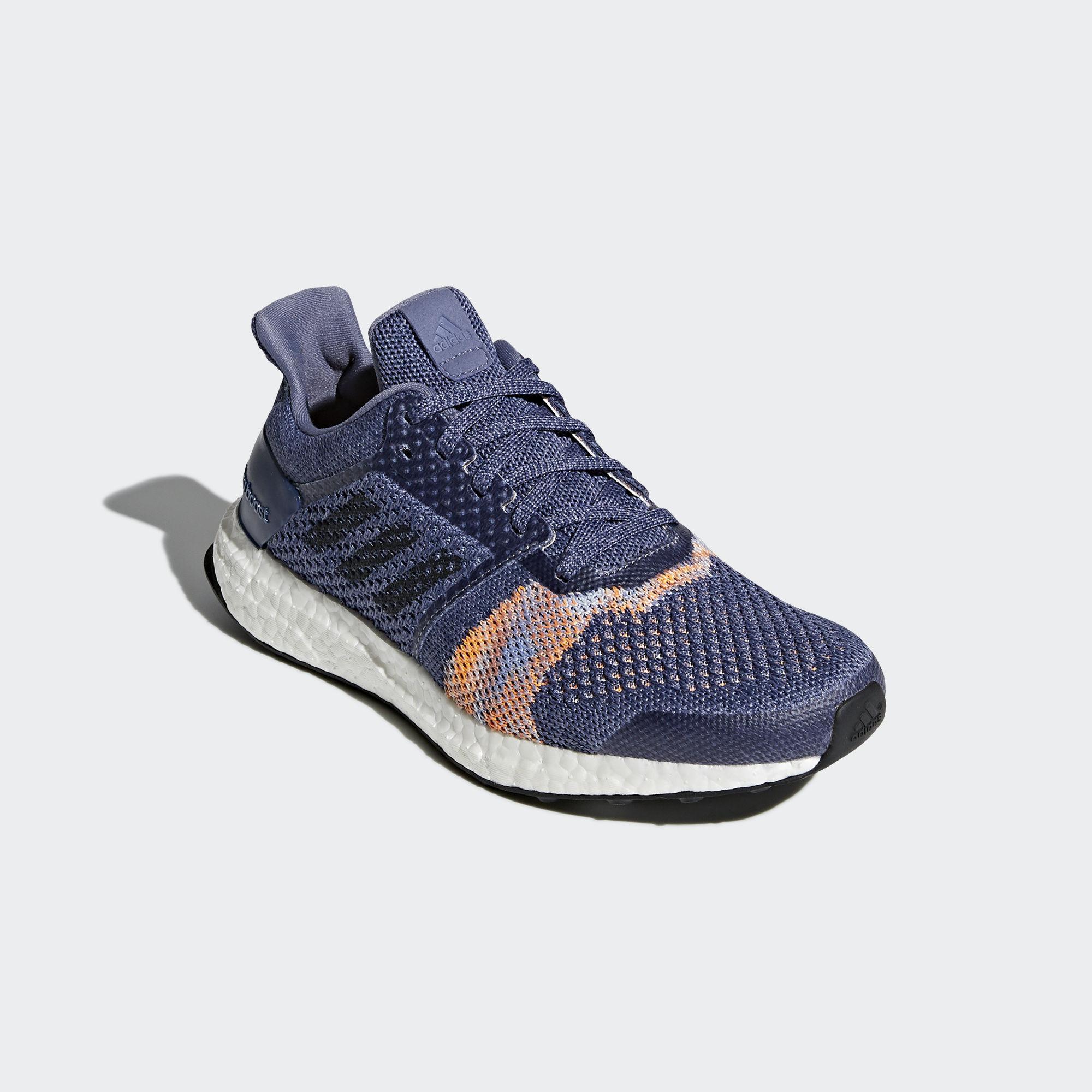 Adidas Womens Ultra Boost ST Running Shoes - Raw Indigo