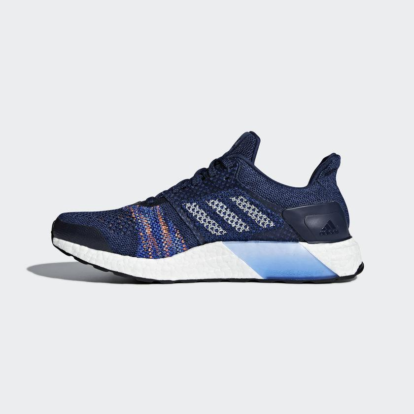3cec21f5108a1 ... get adidas mens ultra boost st running shoes noble indigo a32eb d1a04