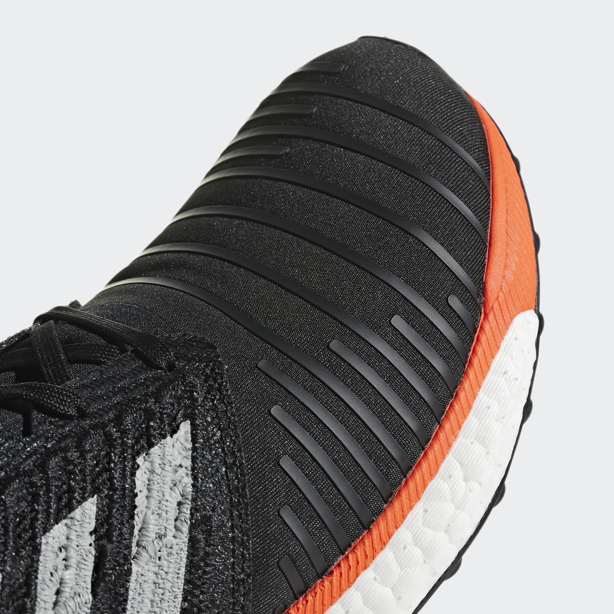 8efaeefd63d Adidas Mens Solar Boost Running Shoes - Black Grey Aqua - Tennisnuts.com