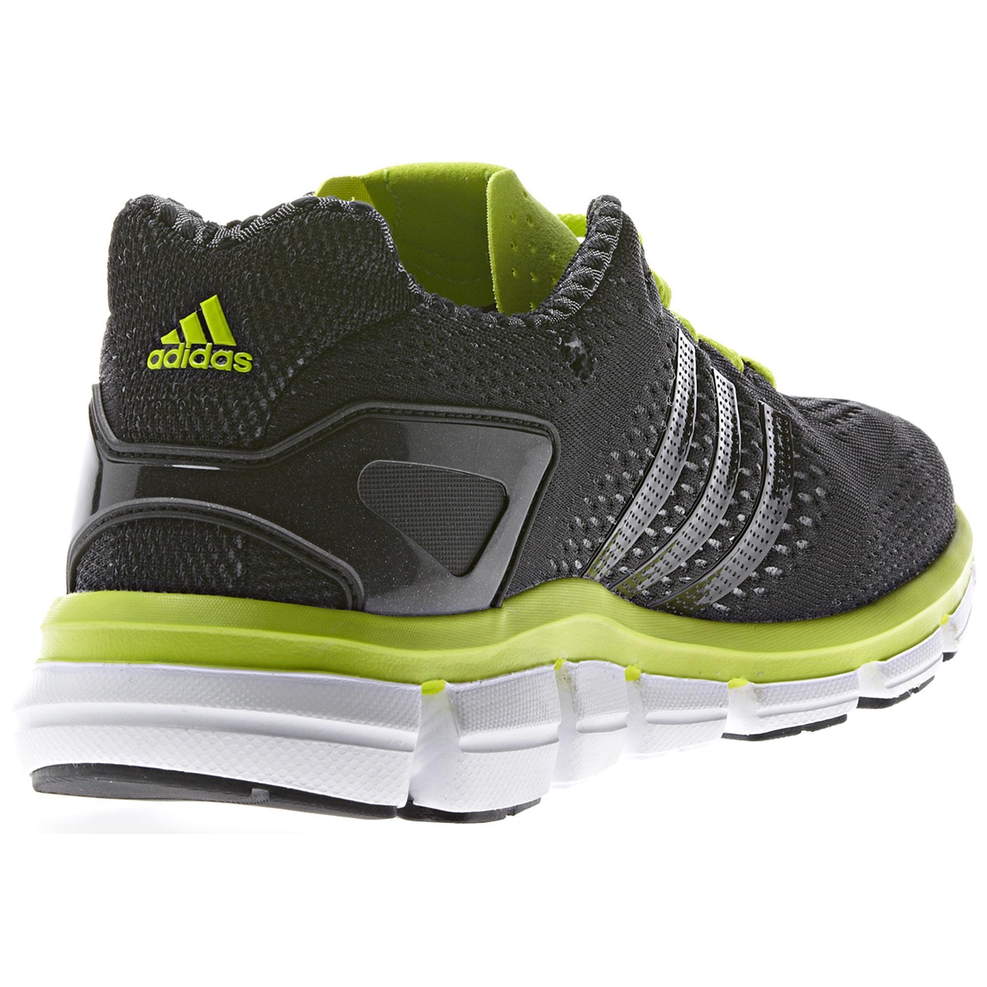 adidas mens climacool ride running shoes black solar. Black Bedroom Furniture Sets. Home Design Ideas