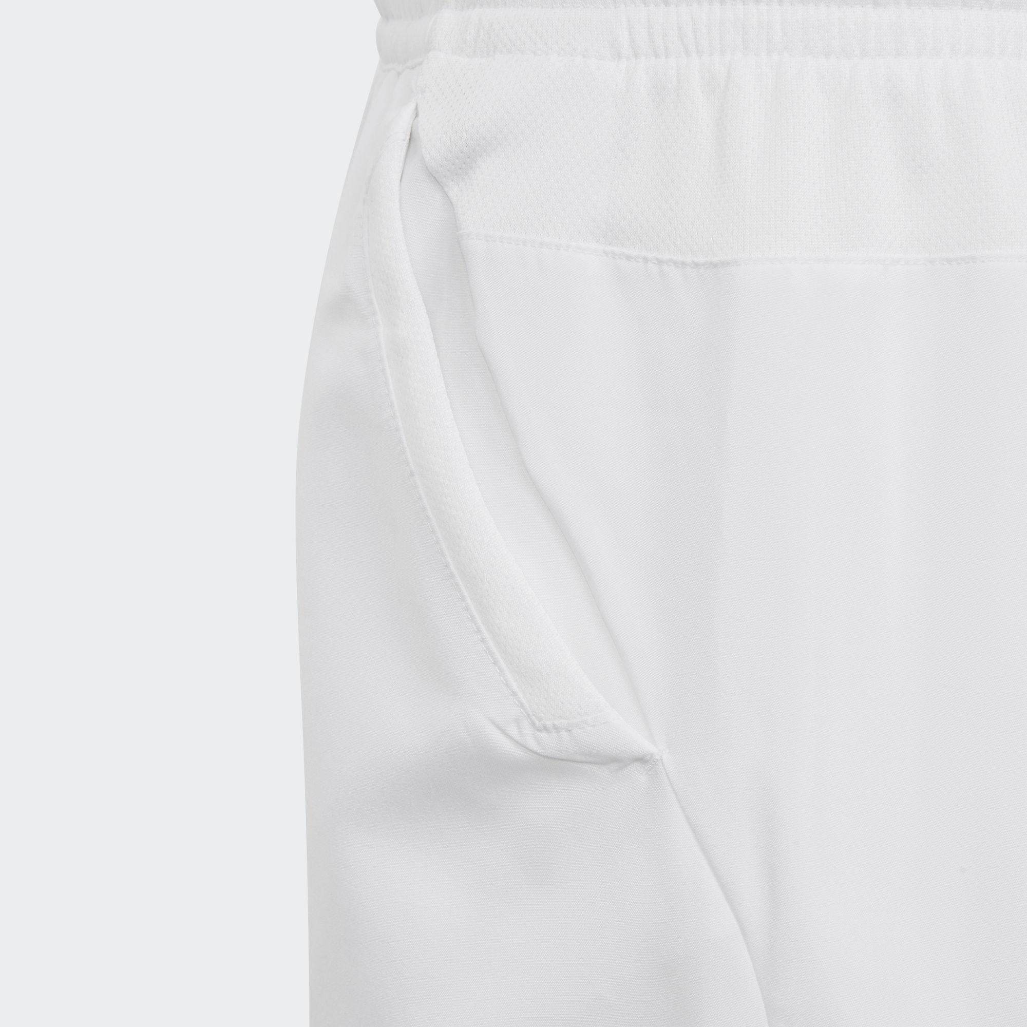 4661f7235 Adidas Boys Club 3-Stripes Shorts - White - Tennisnuts.com