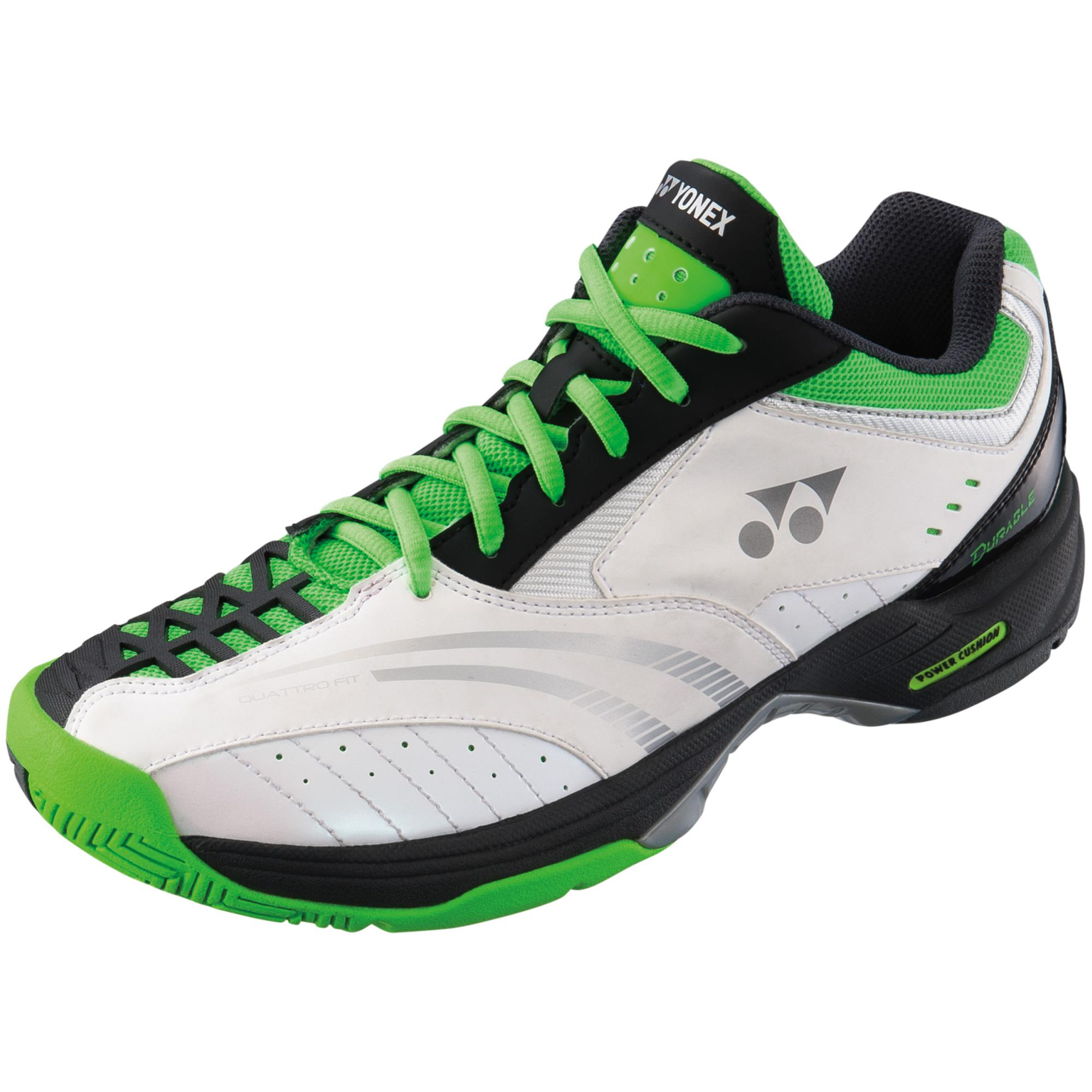 Yonex Mens SHT-DURABLE 2 All-Court Tennis Shoes - White/Green ...