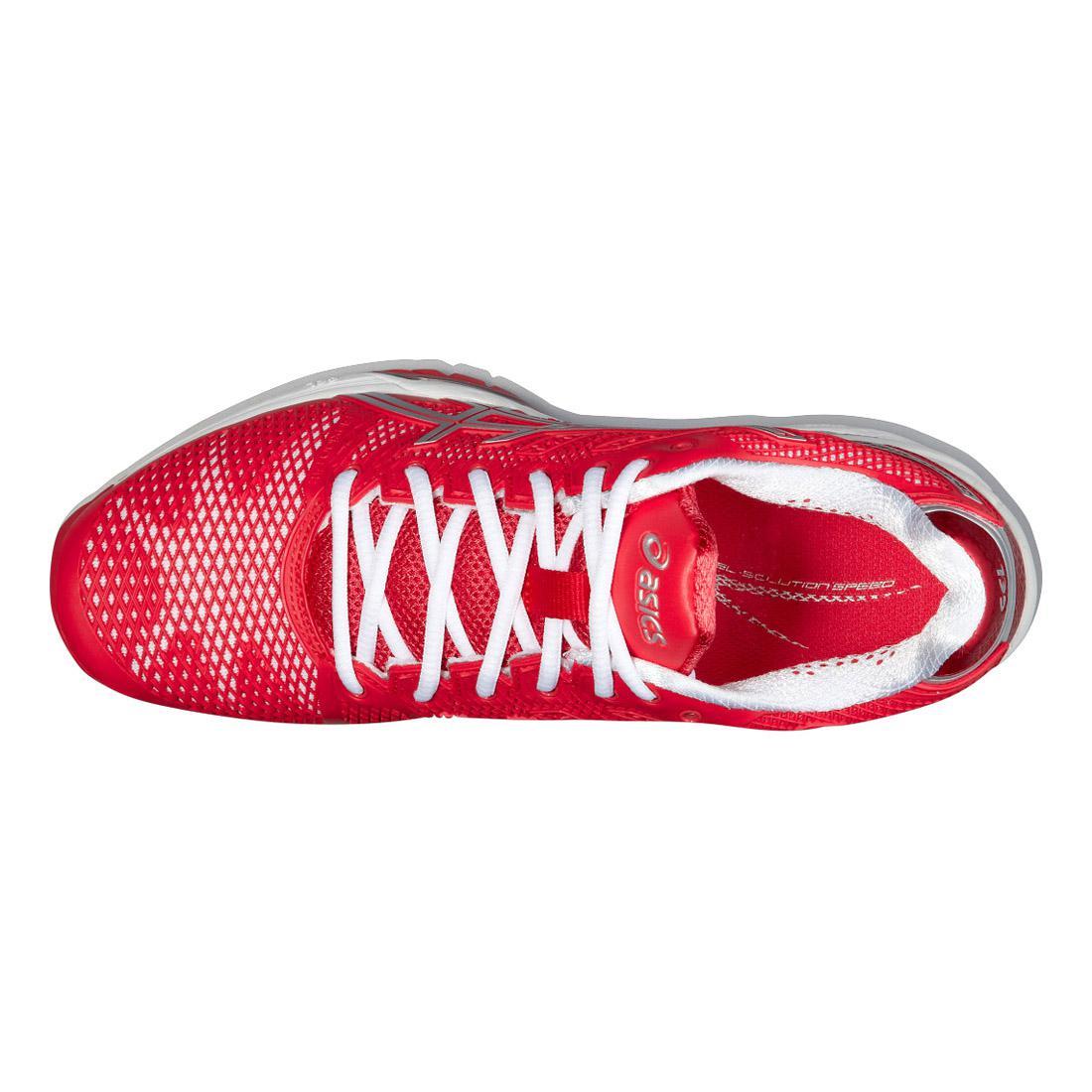 565d79d469a4 Asics Womens GEL-Solution Speed 2 Tennis Shoes - Red - Tennisnuts.com
