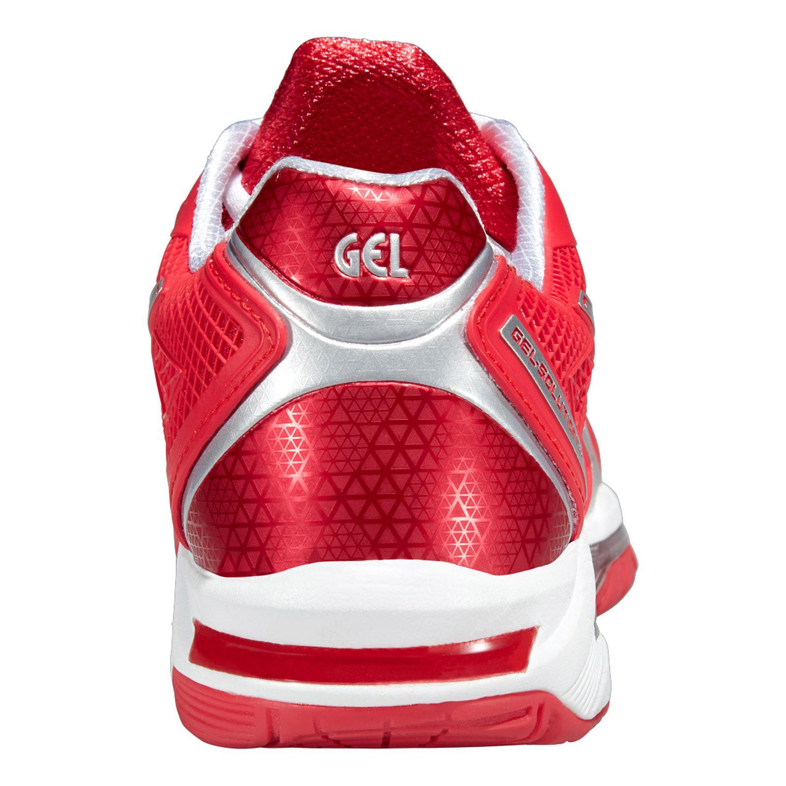 538e15a919b7a Asics Tennis Solution Shoes 2 Speed Womens Red Gel OzqFwOr