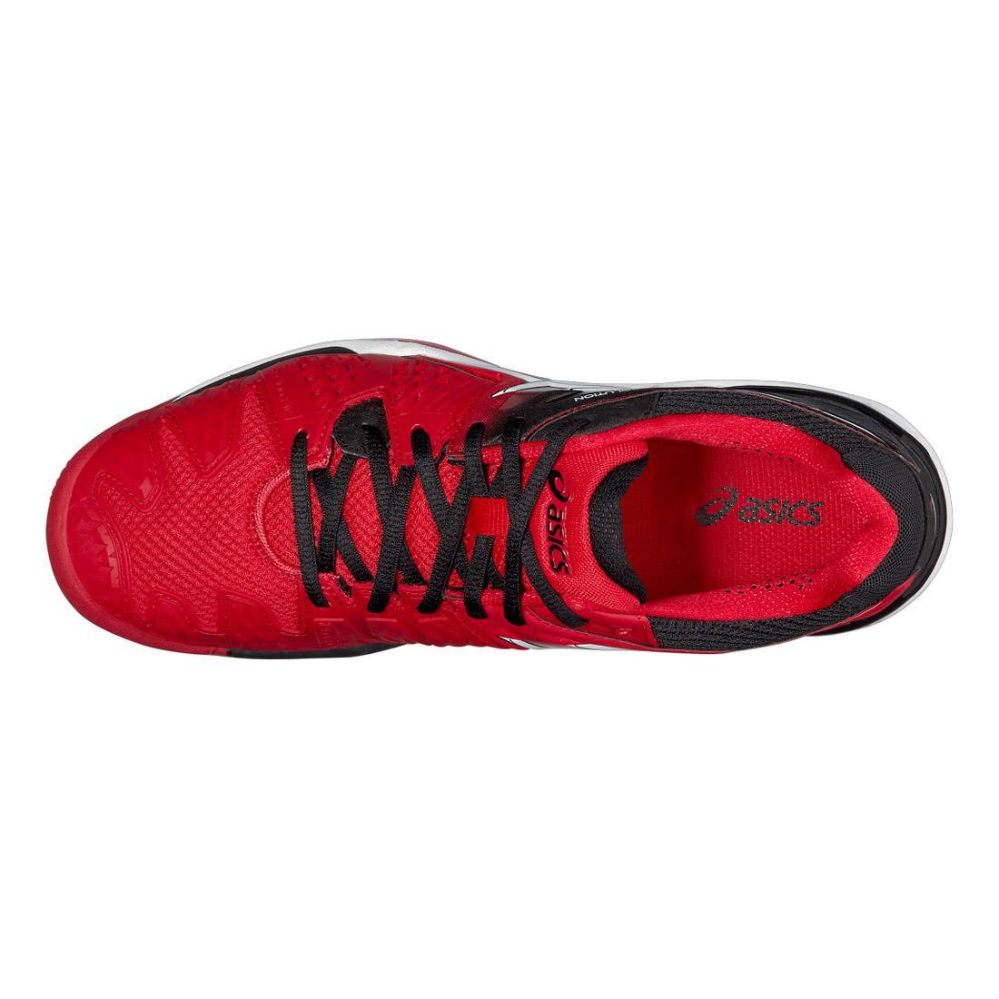 Gel De Resolución 6 Zapatillas De Tenis Asics De Los Hombres - De Color Rojo Fuego fn1NO
