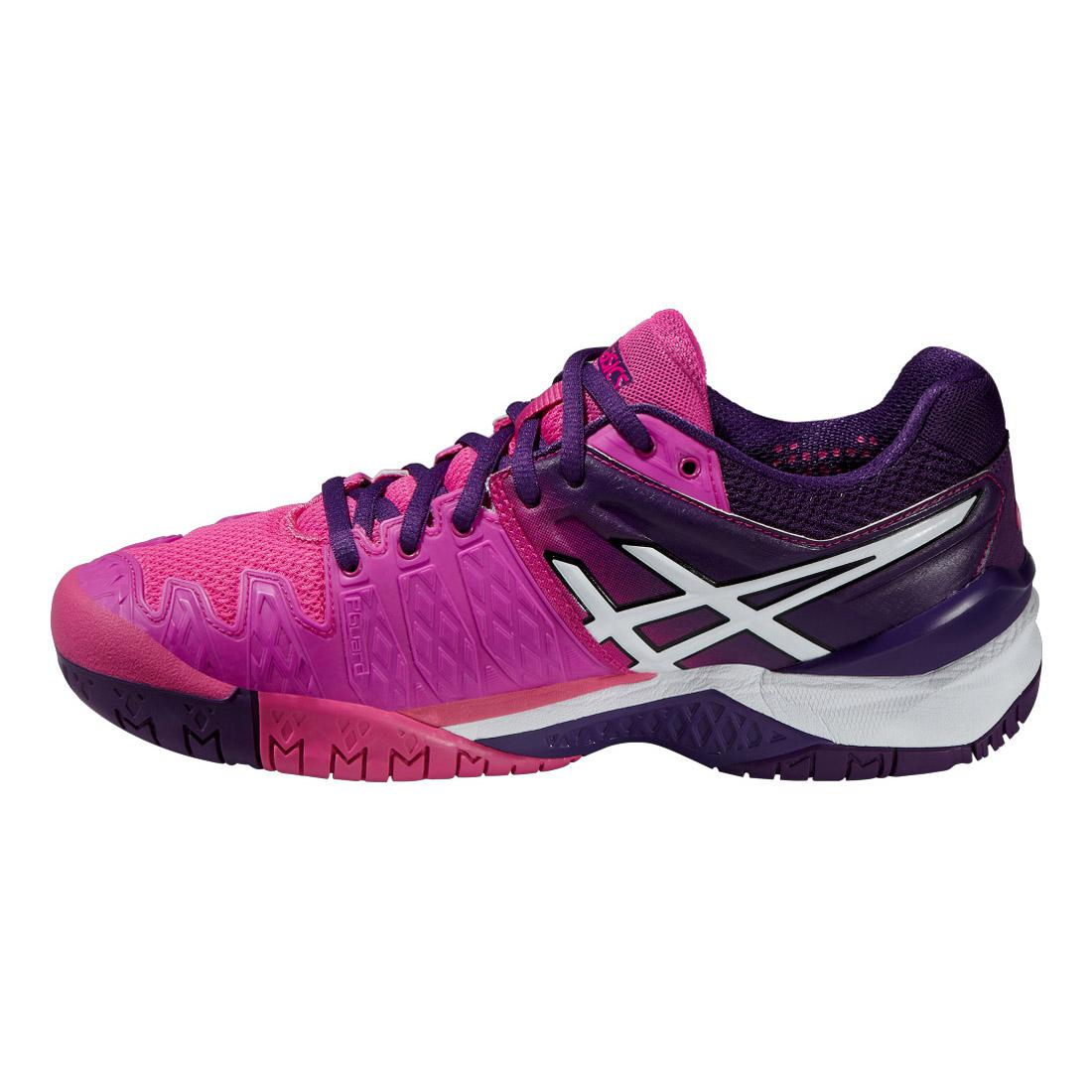 Asics Womens GEL Resolution 6 Clay Court Tennis Shoes ...