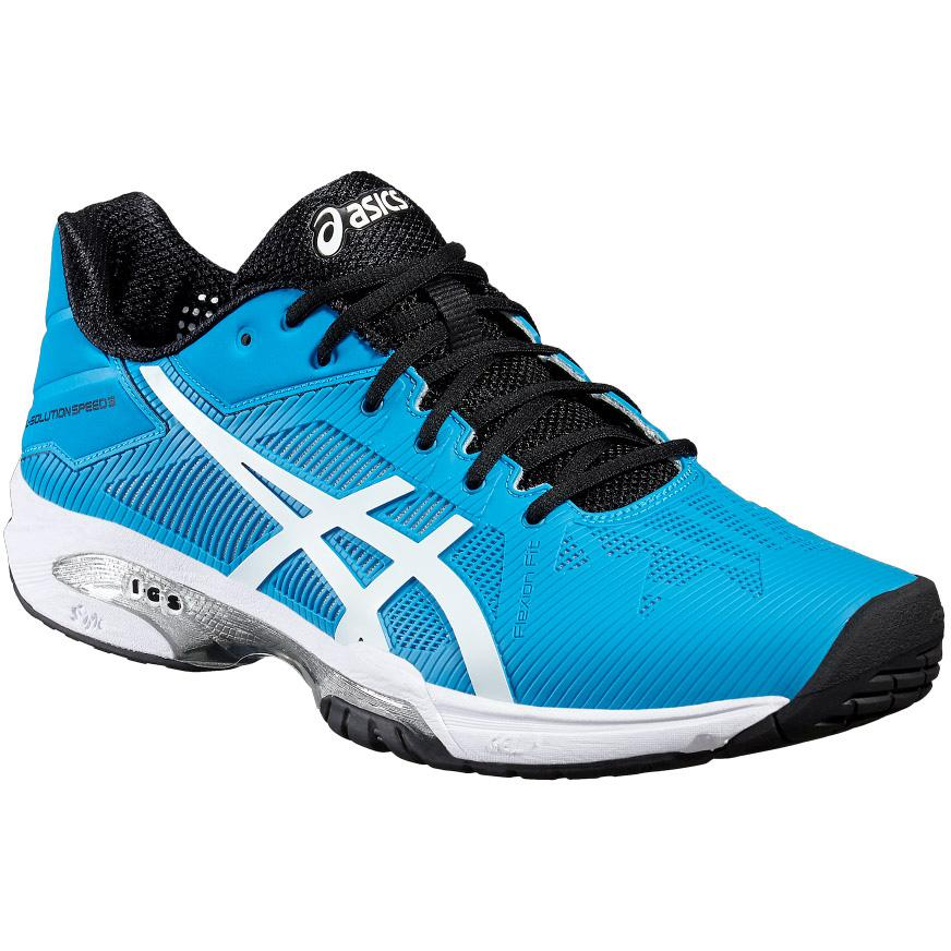 Asics Blue Asics Gel Solution Speed 3 Men's Tennis Shoe