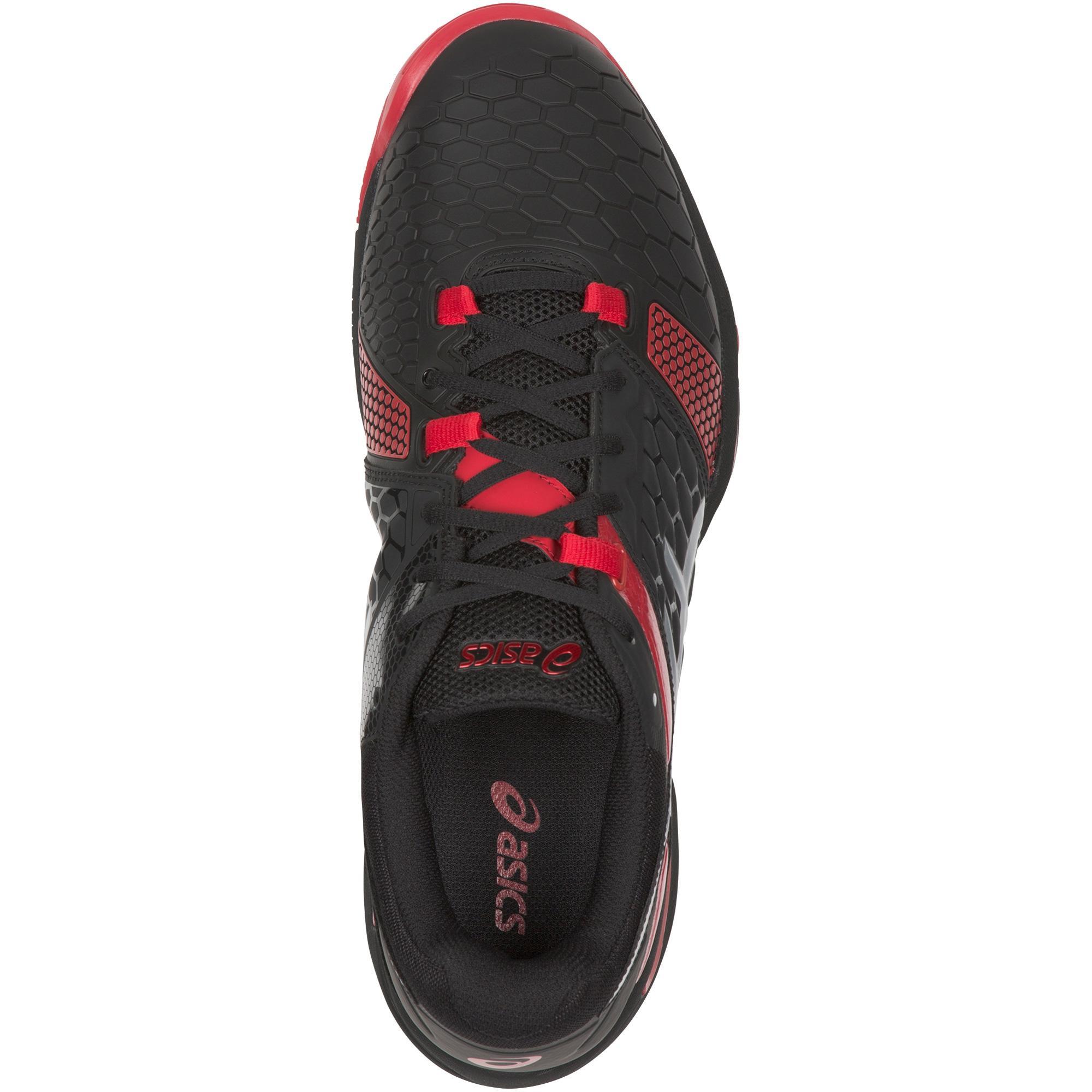 Asics Mens GEL Blast 7 Indoor Court Shoes BlackRed