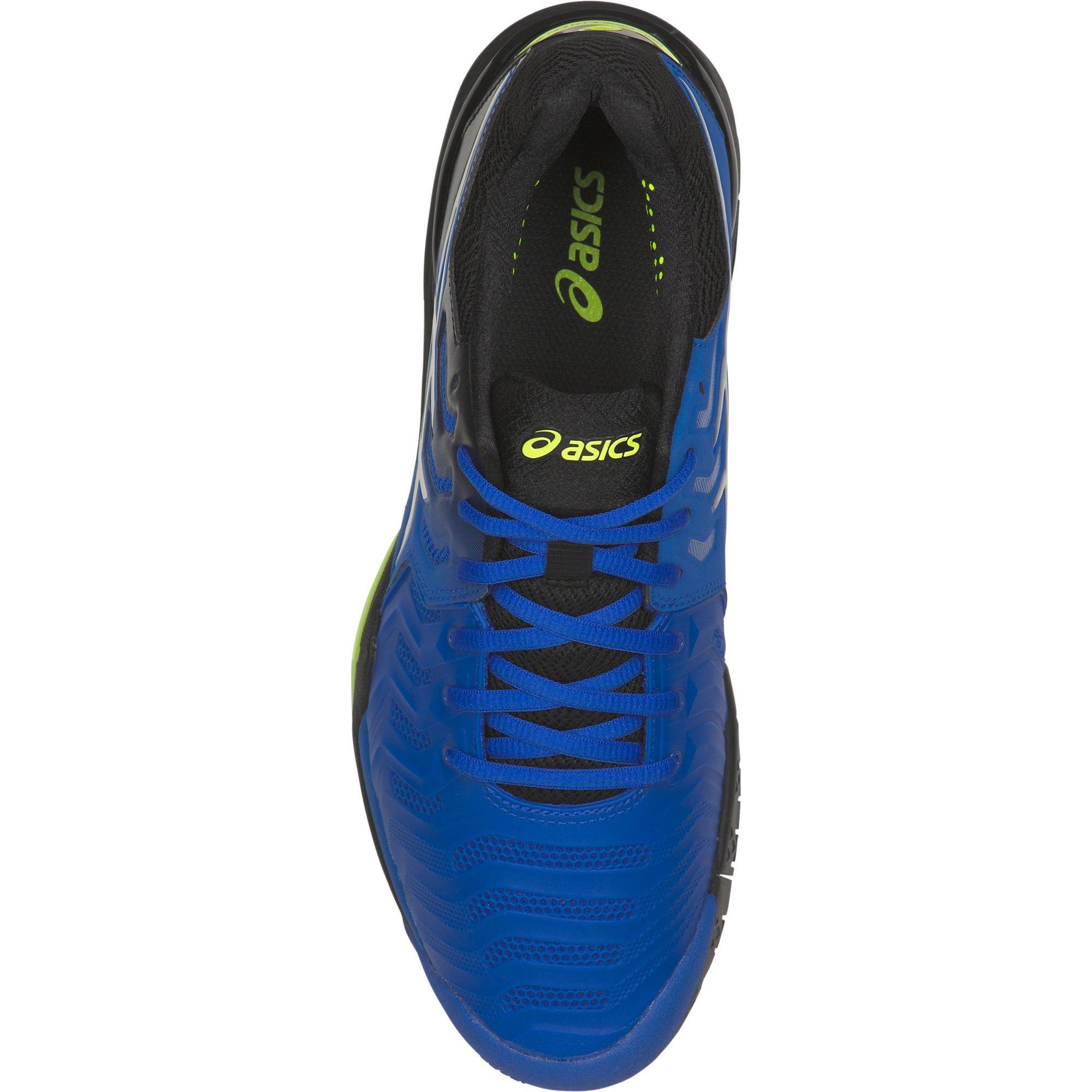 813c3d985e6421 Asics Mens GEL-Resolution 7 Tennis Shoes - Illusion Blue/Black ...