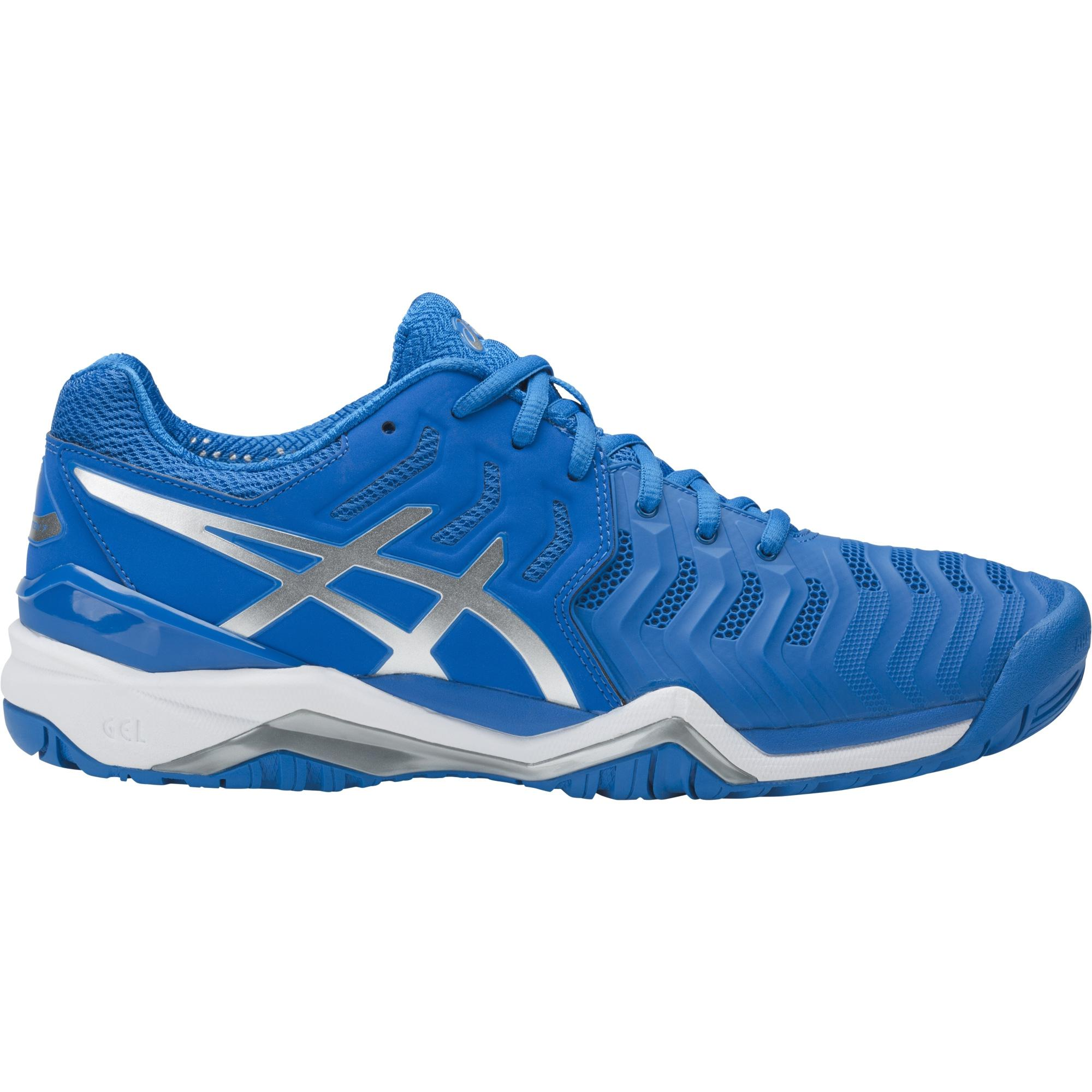 Asics Mens GEL-Resolution 7 Tennis Shoes - Blue