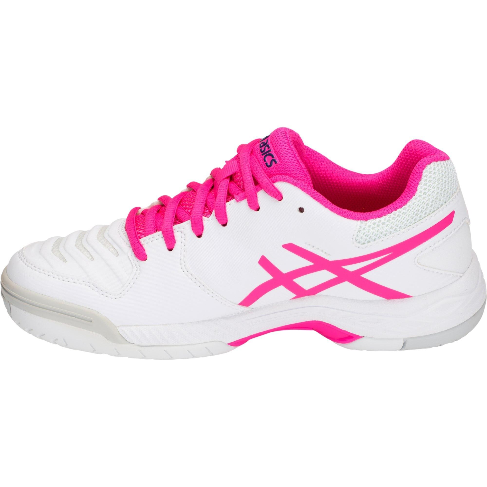 Asics Womens GEL-Game 6 Tennis Shoes - White/Pink Glow ...